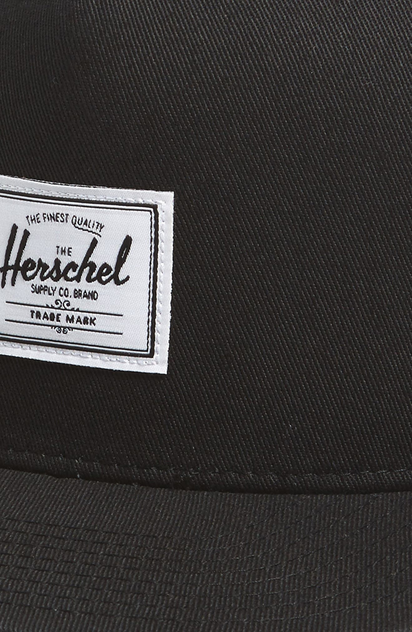 HERSCHEL SUPPLY CO.,                             Dean Snapback Baseball Cap,                             Alternate thumbnail 3, color,                             BLACK
