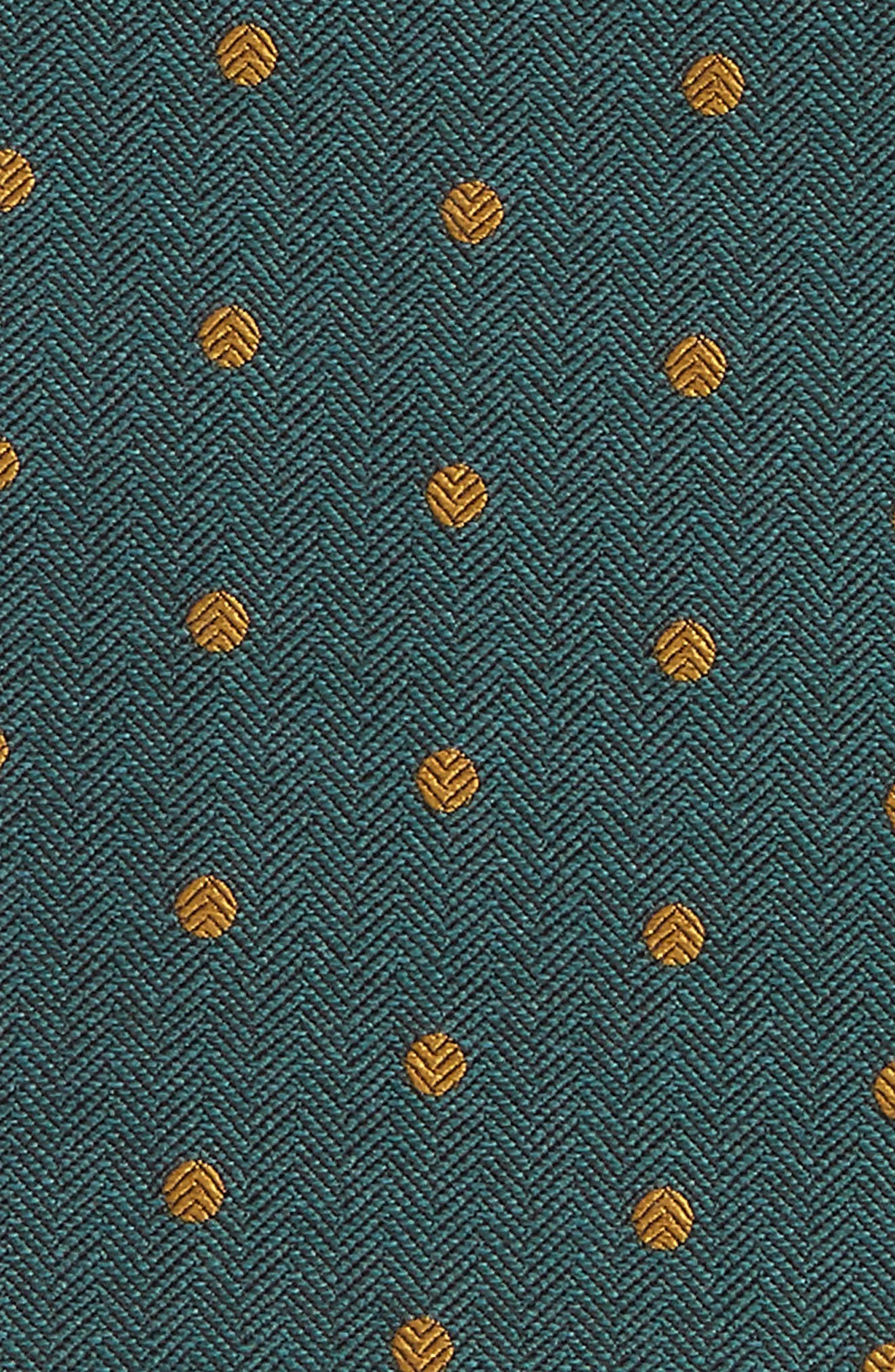 Dot Hitch Pocket Square,                             Alternate thumbnail 7, color,