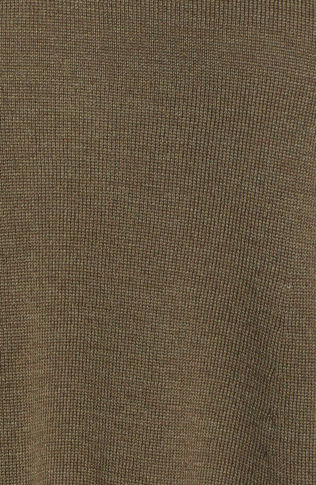 Lightweight Merino Jersey V-Neck Tunic,                             Alternate thumbnail 85, color,