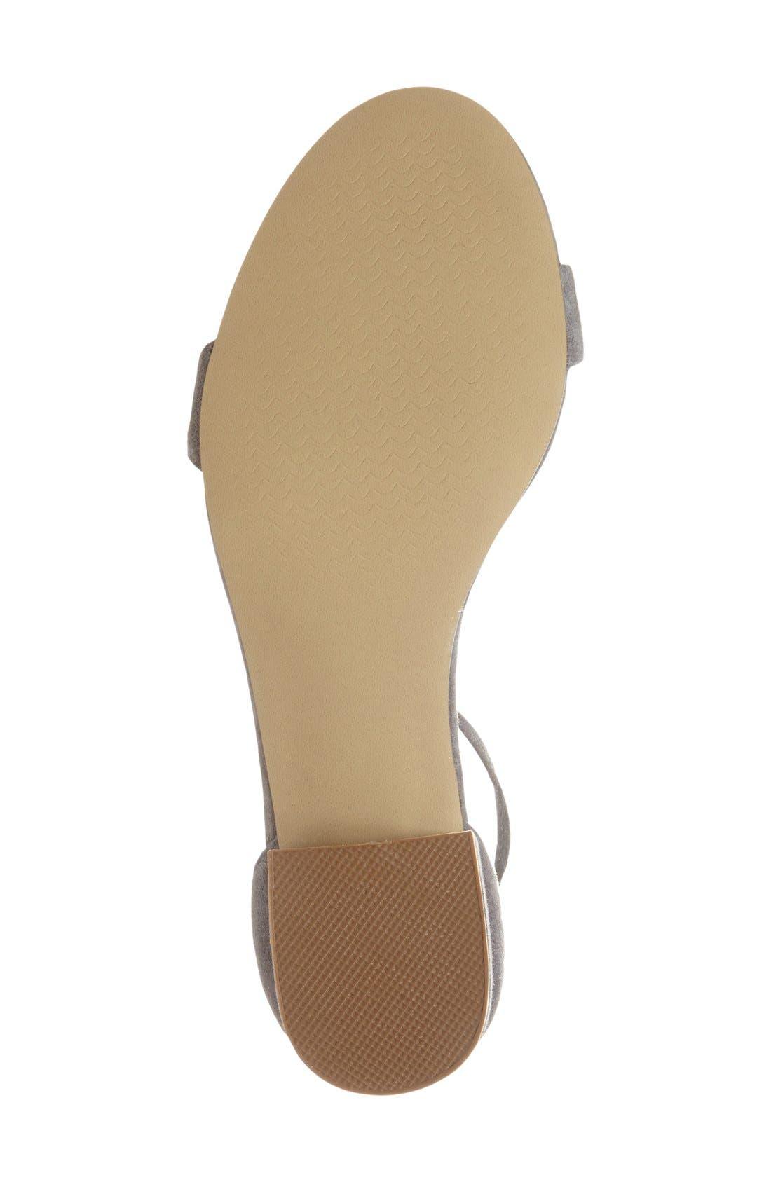 Irenee Ankle Strap Sandal,                             Alternate thumbnail 101, color,
