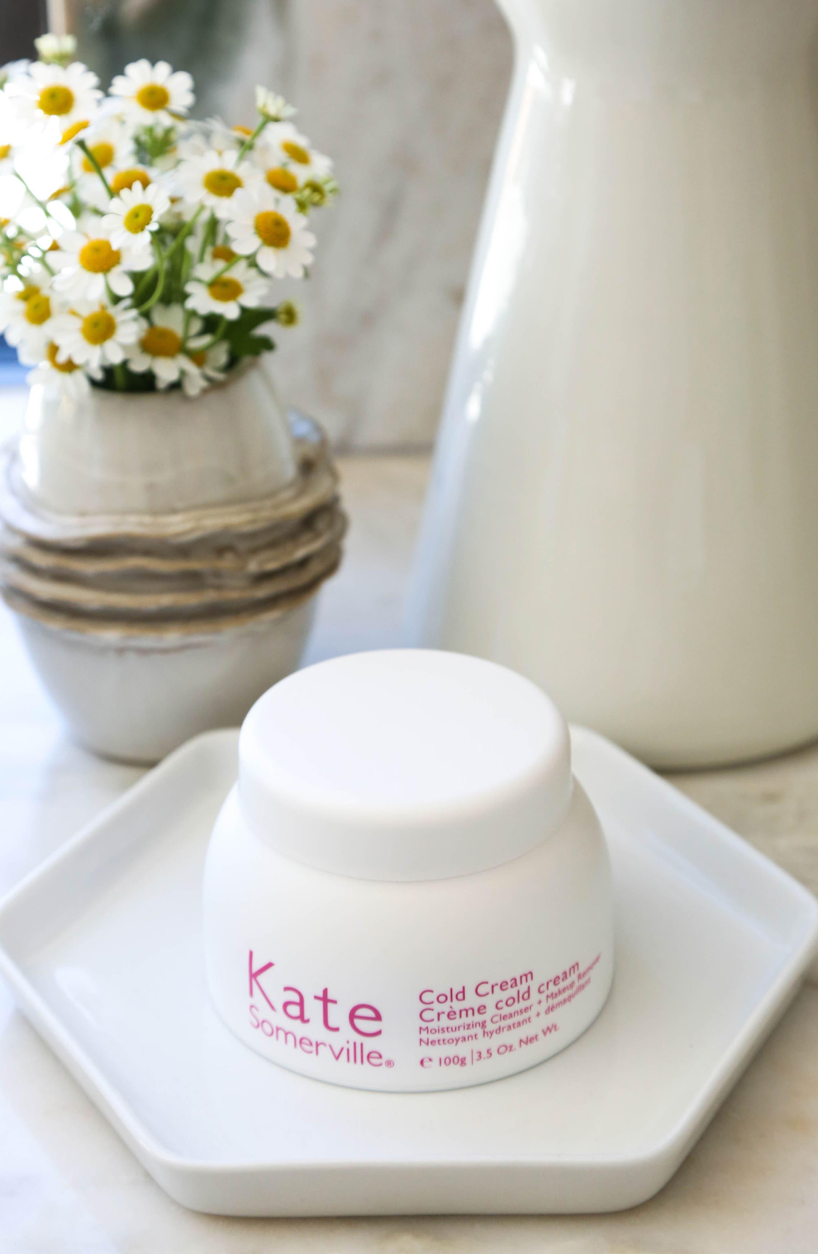 Cold Cream Moisturizing Cleanser + Makeup Remover,                             Alternate thumbnail 6, color,                             NO COLOR