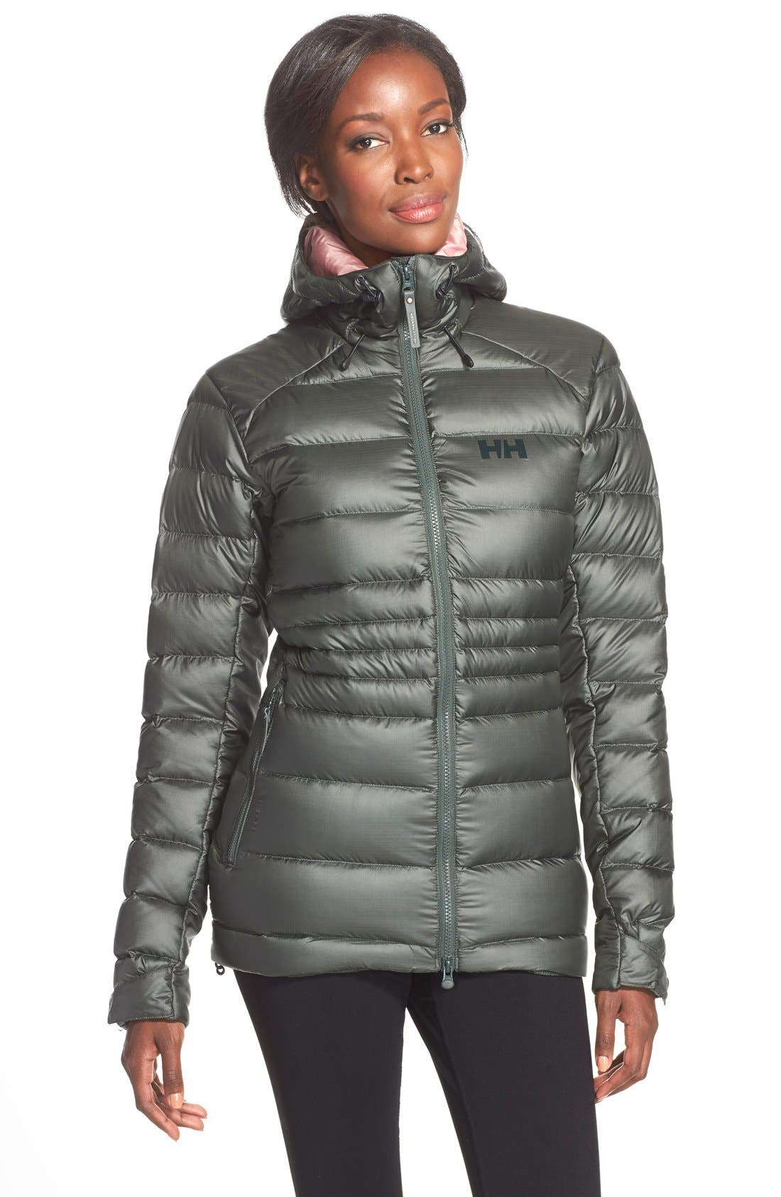 Helly Hansen Icefall Quilted Down Jacket,                             Main thumbnail 1, color,                             021