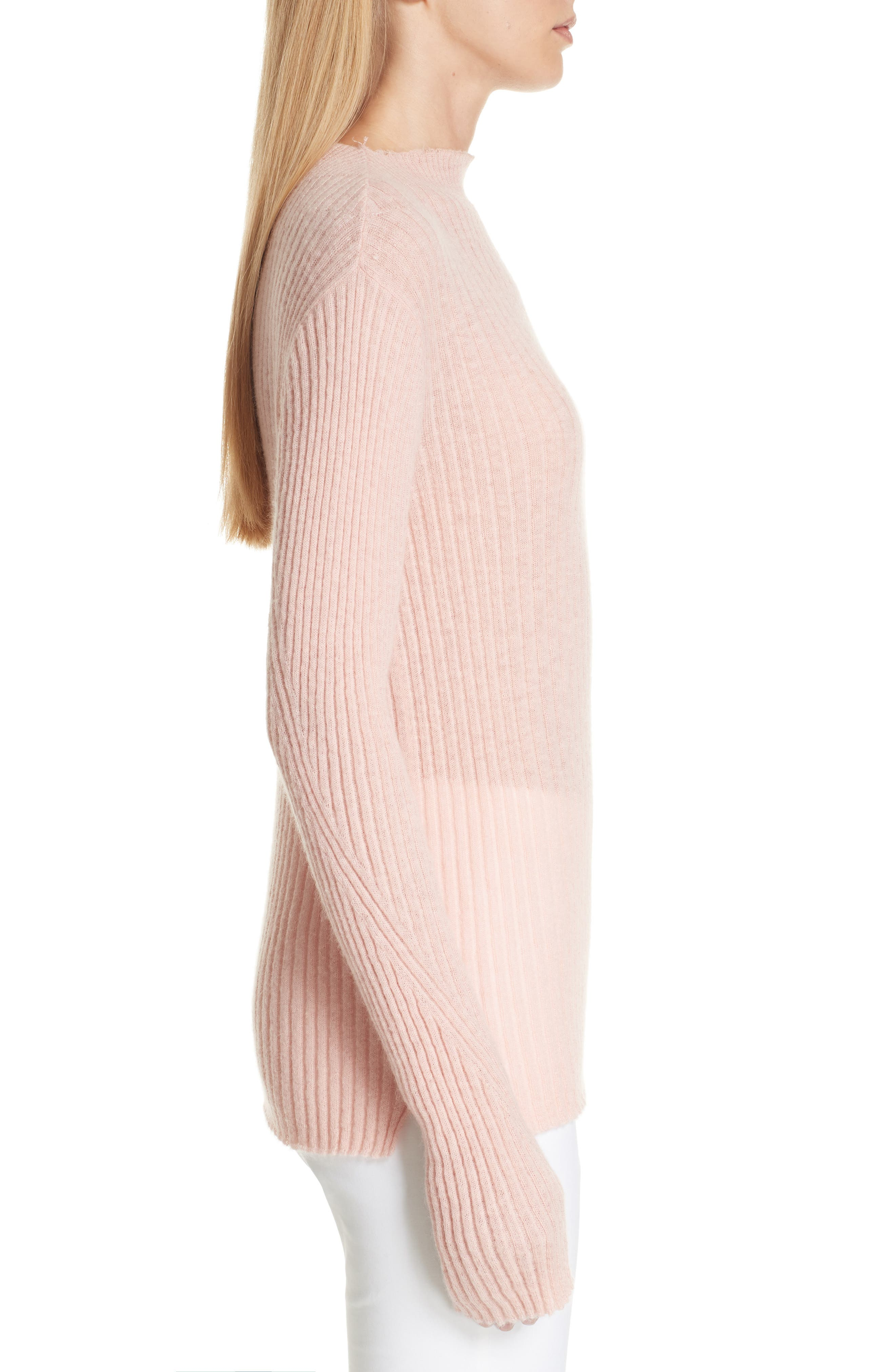 Donna Mohair Blend Sweater,                             Alternate thumbnail 3, color,                             950