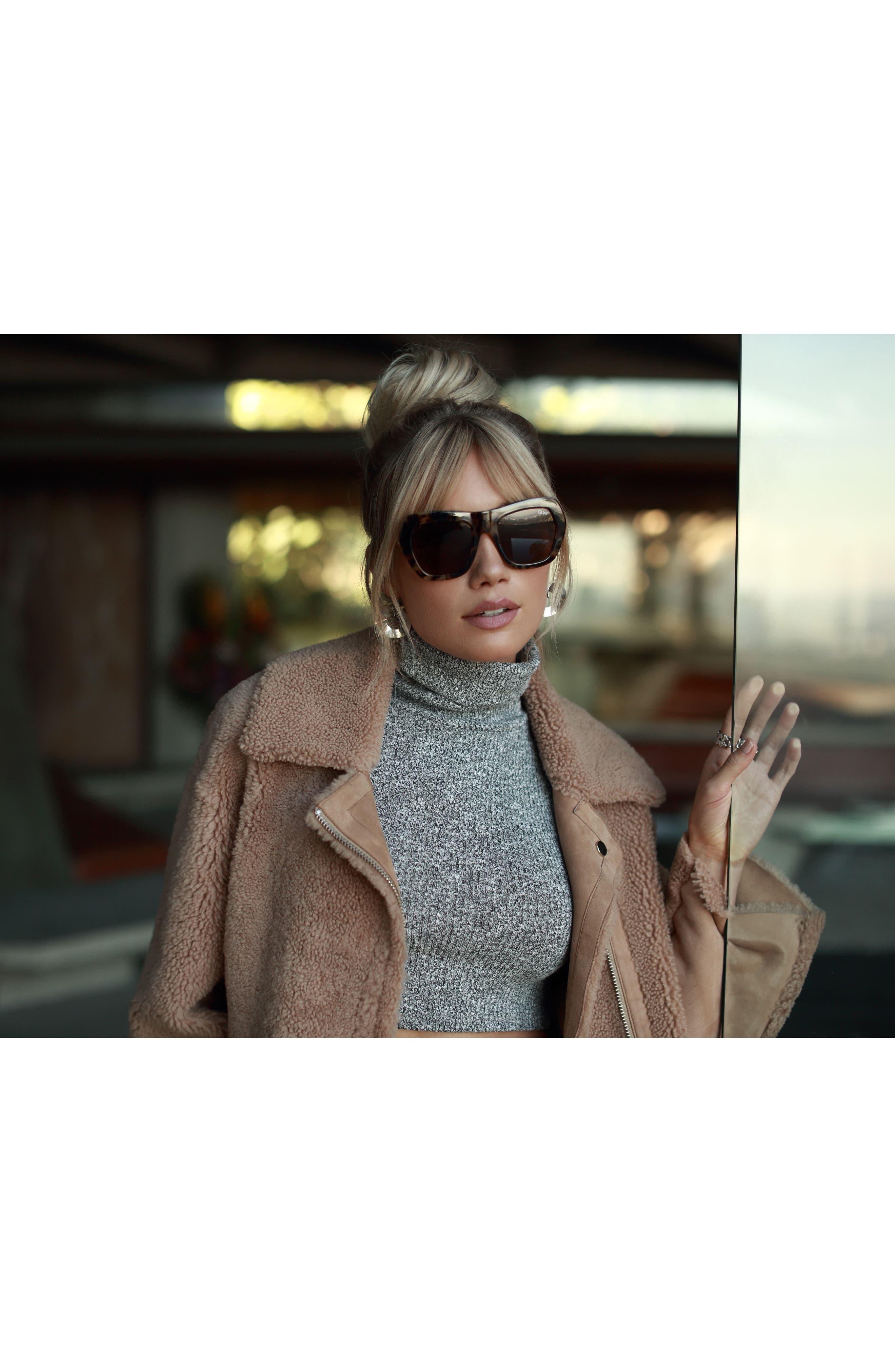 Common Love 53mm Square Sunglasses,                             Alternate thumbnail 10, color,
