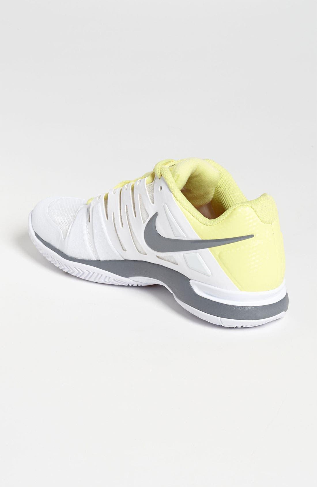NIKE,                             'Zoom Vapor 9 Tour' Tennis Shoe,                             Alternate thumbnail 4, color,                             107
