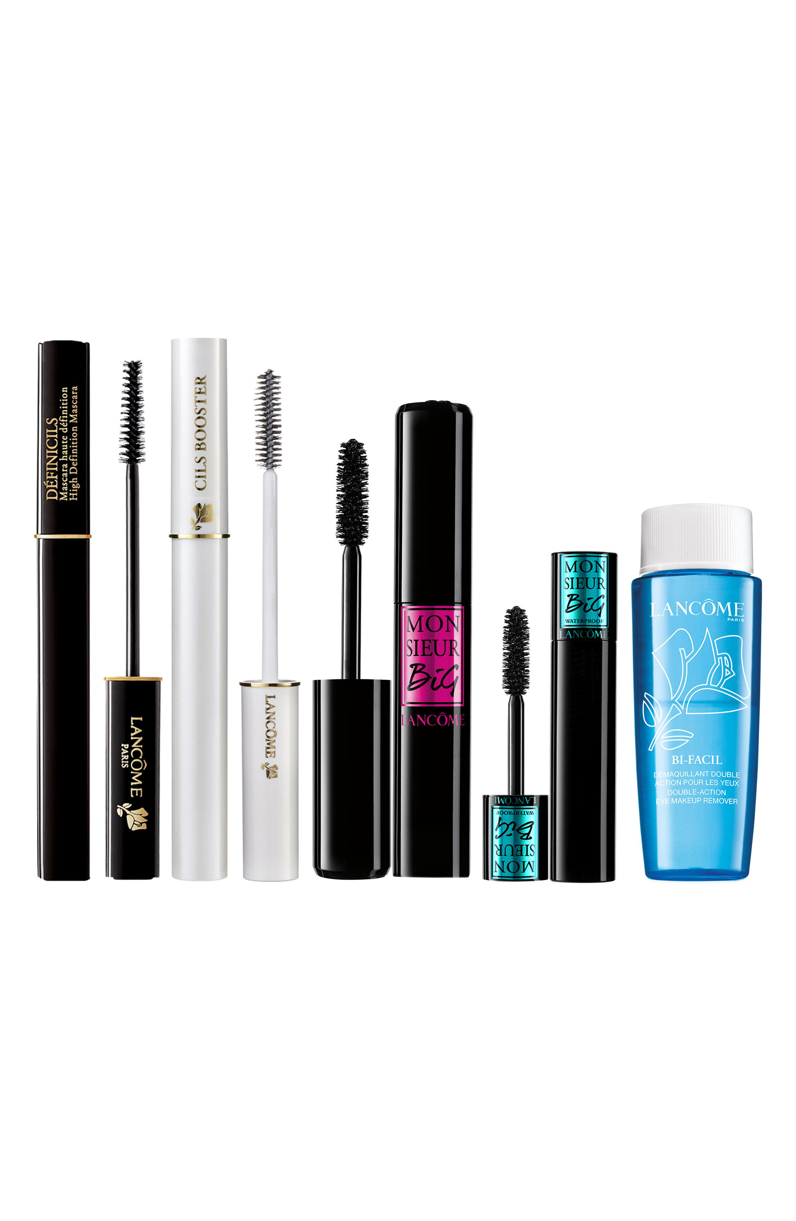 The Best of Lancôme Lashes Mascara Set,                             Main thumbnail 1, color,                             000