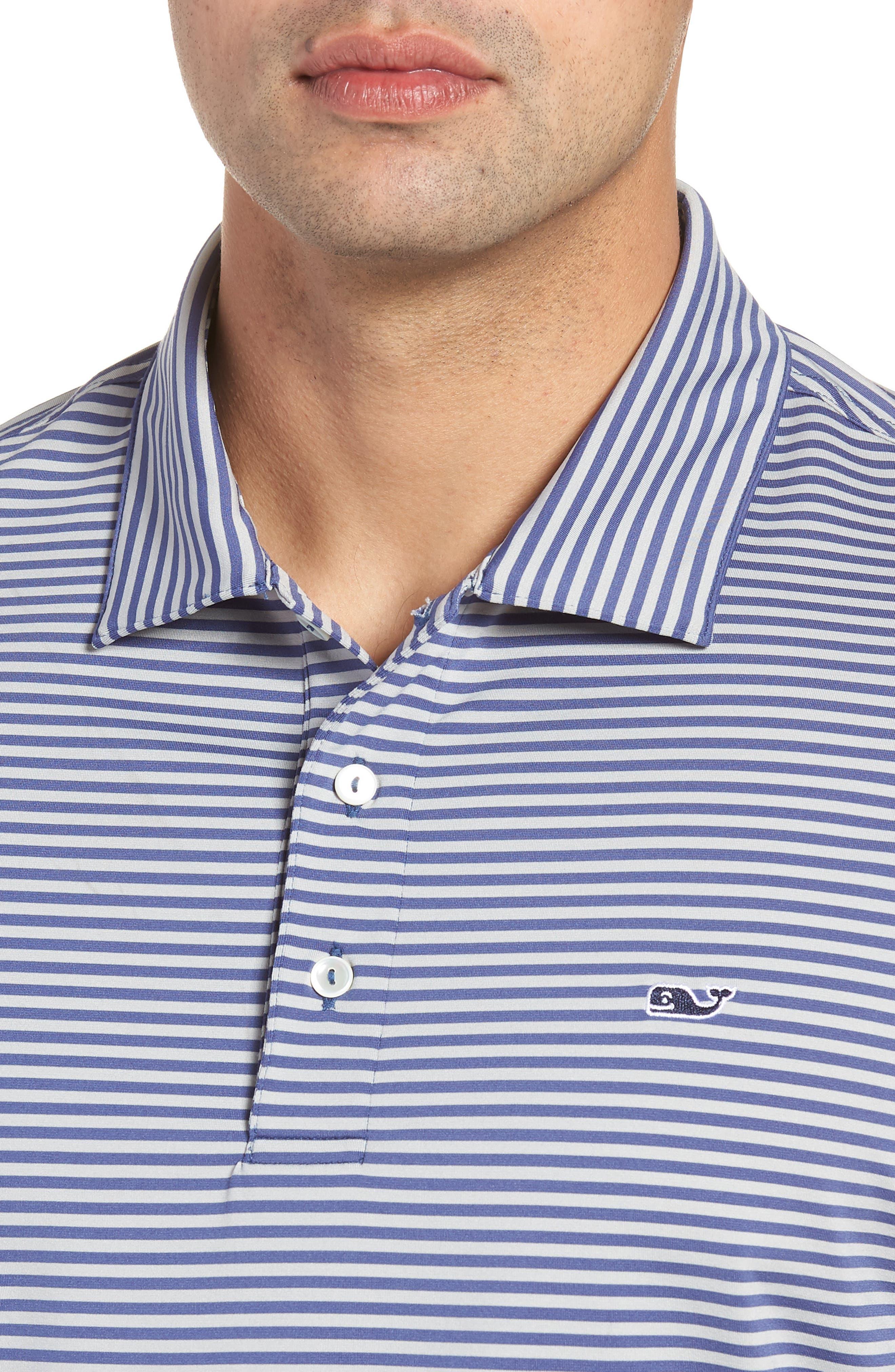 Kennedy Stripe Golf Polo,                             Alternate thumbnail 59, color,