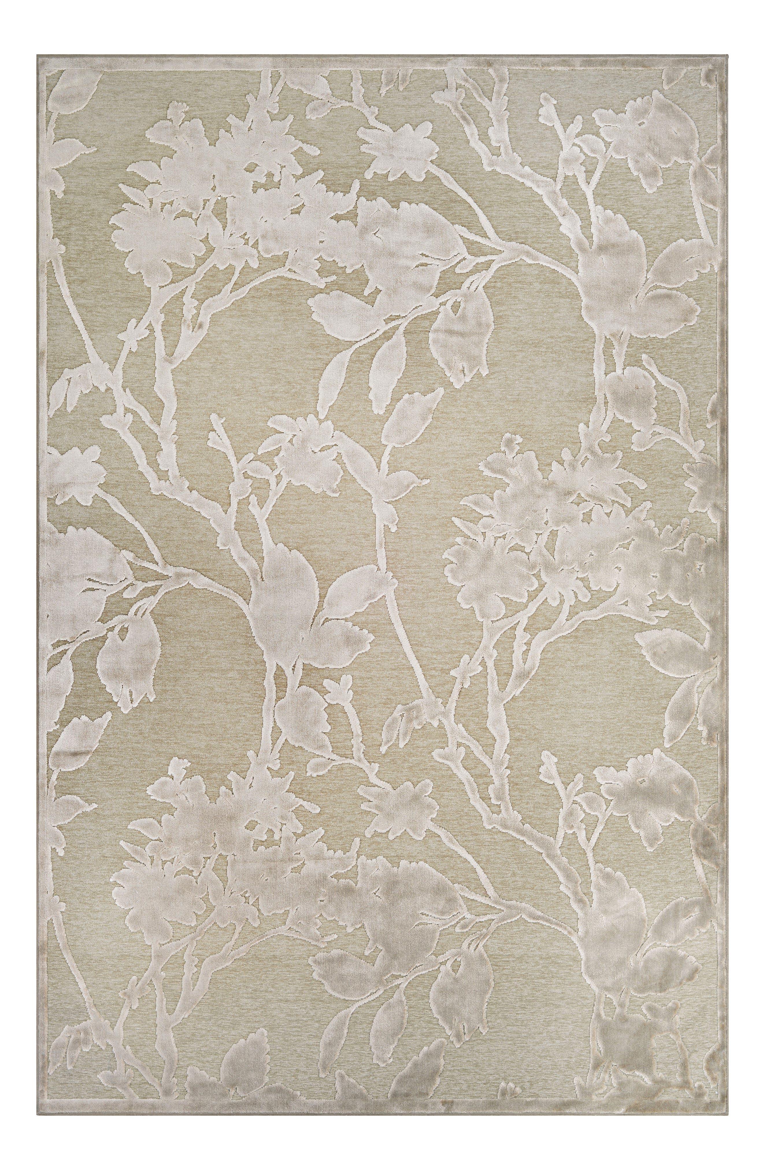 Cire Blossom Area Rug,                         Main,                         color, MUSHROOM