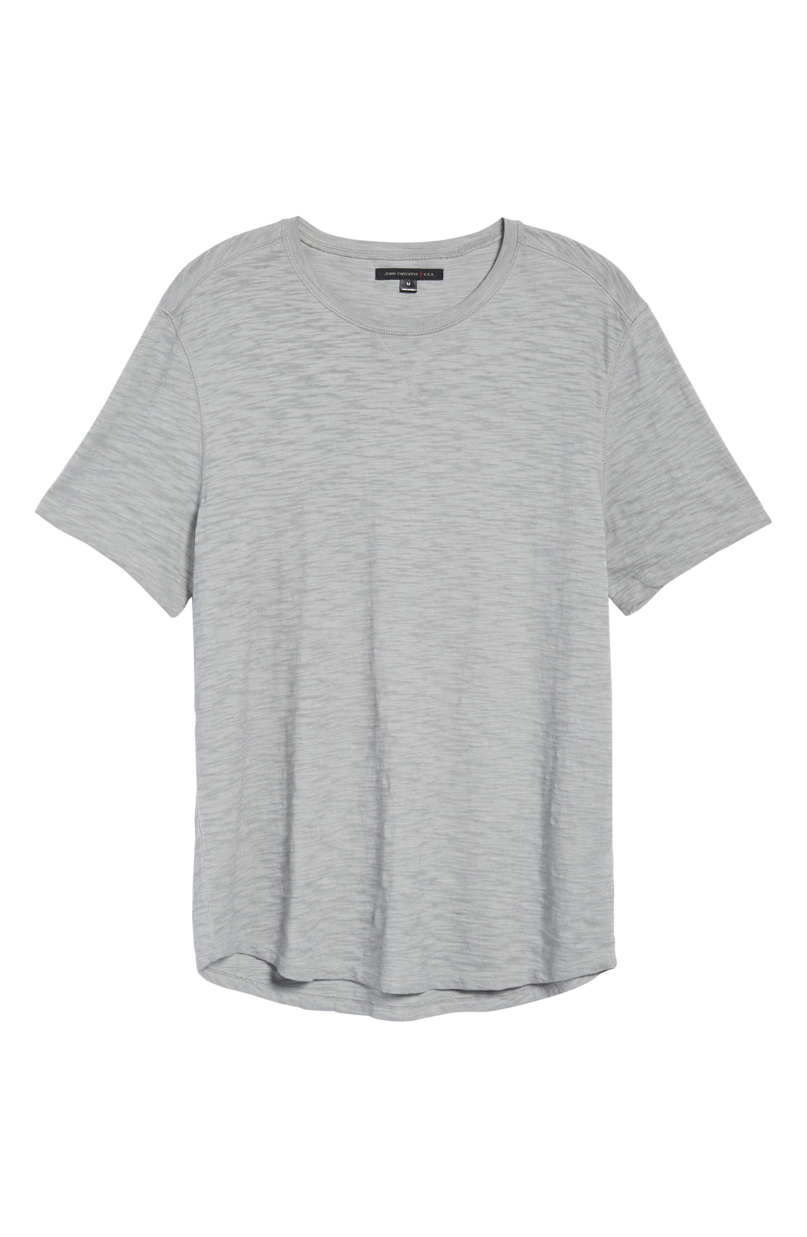 Slim Fit Slubbed T-Shirt,                             Alternate thumbnail 17, color,