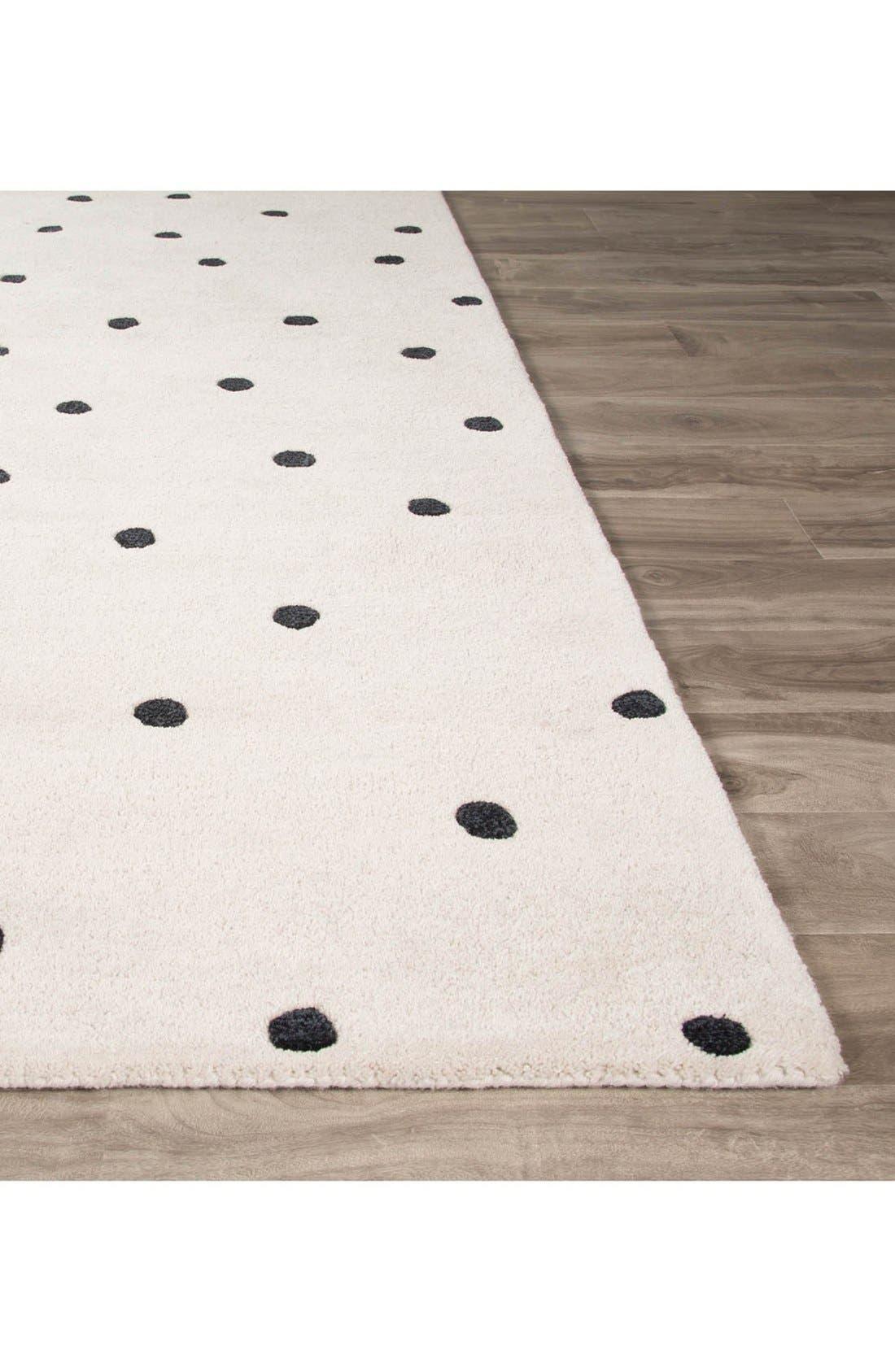 'gramercy - dots' rug,                             Alternate thumbnail 10, color,