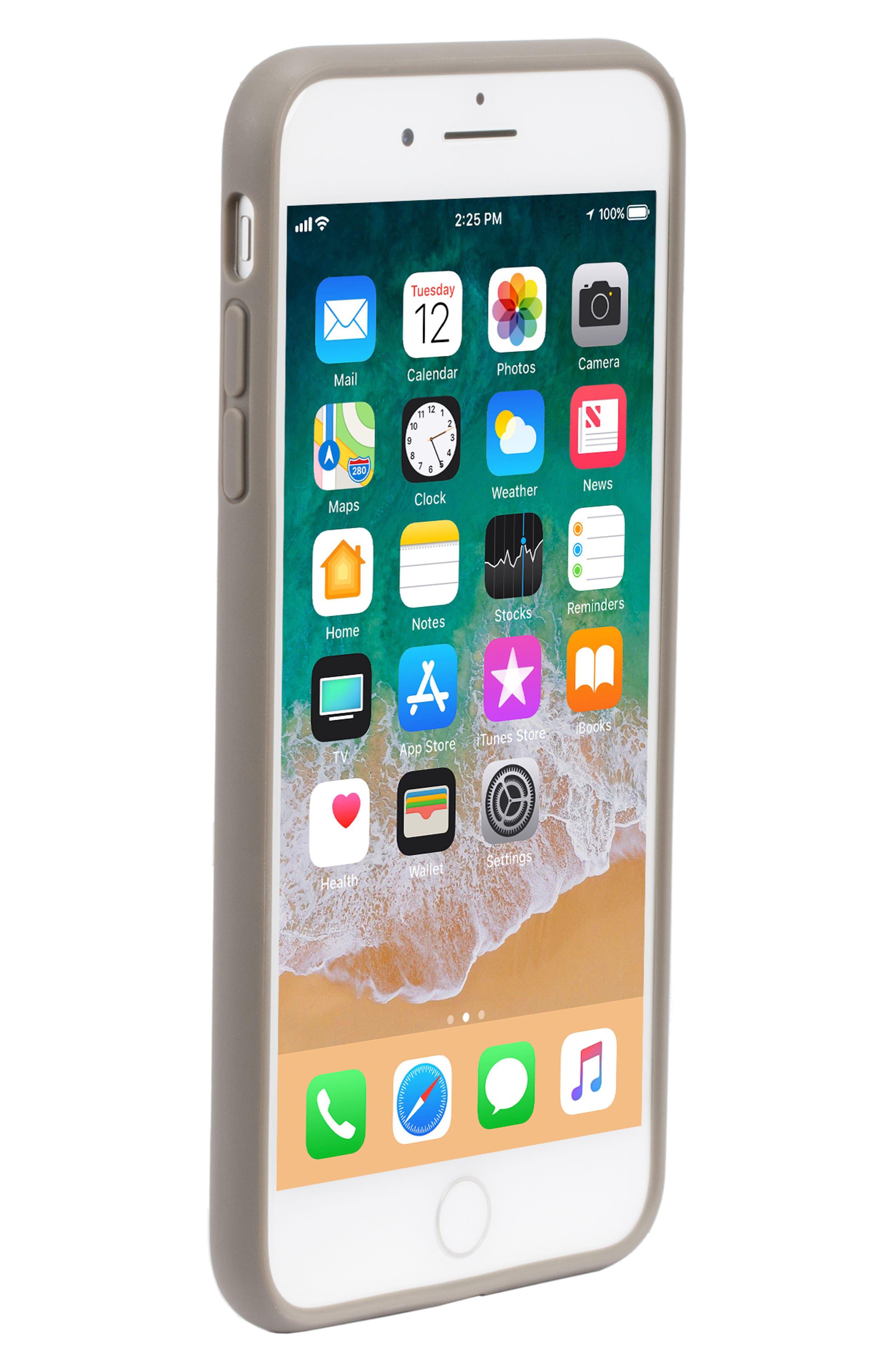 Pop Case Tint iPhone 7 Plus/8 Plus Case,                             Alternate thumbnail 5, color,                             DEEP TAUPE