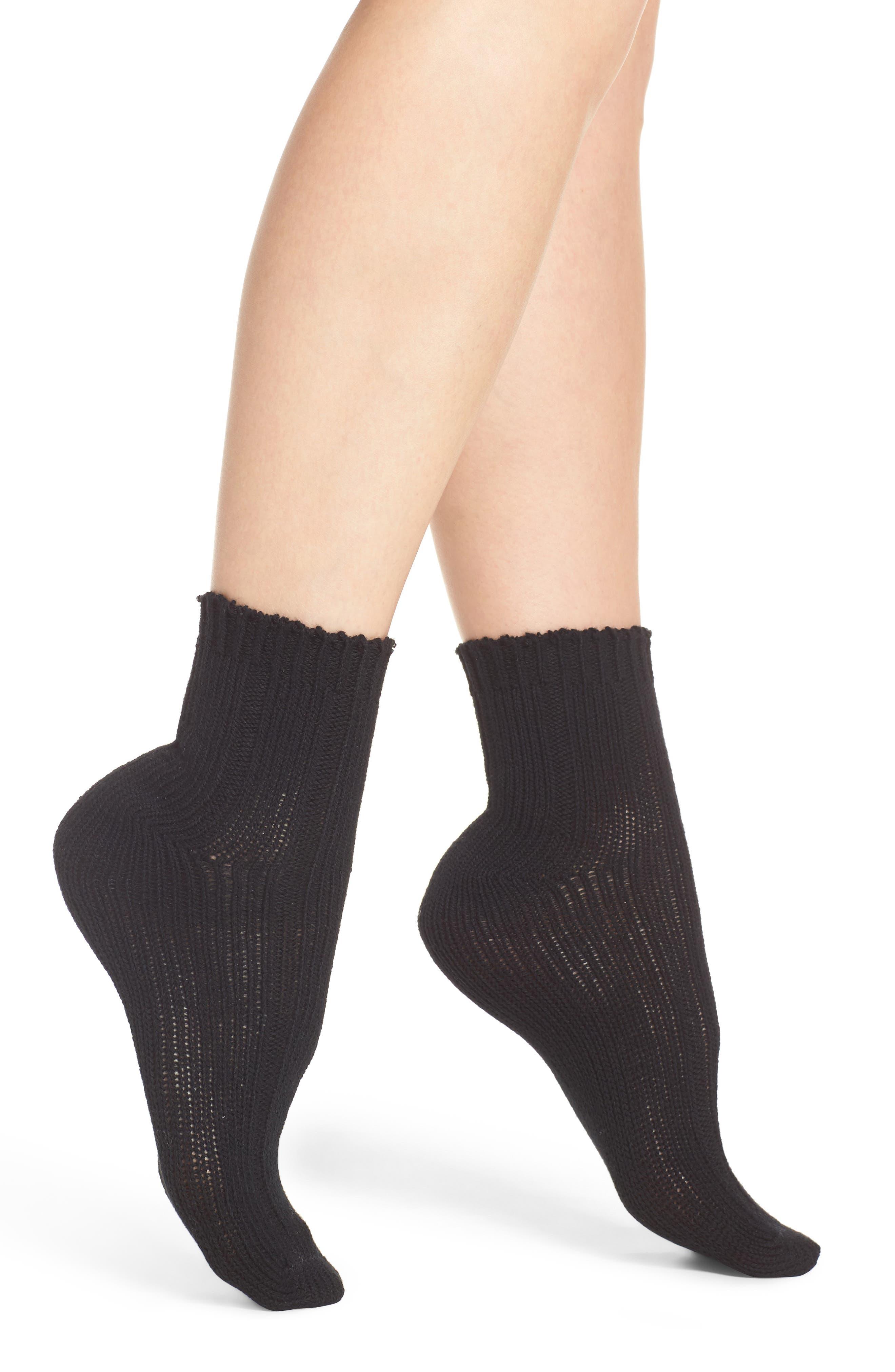 Variegated Rib Crew Socks,                         Main,                         color, 001