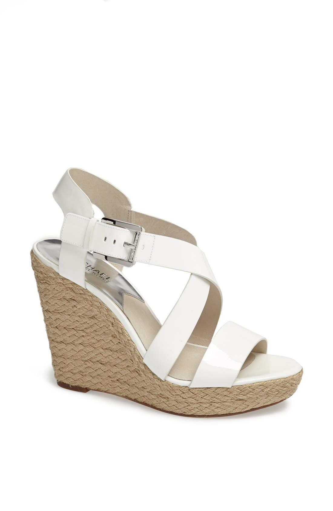 'Giovanna' Wedge Sandal,                             Main thumbnail 1, color,                             101
