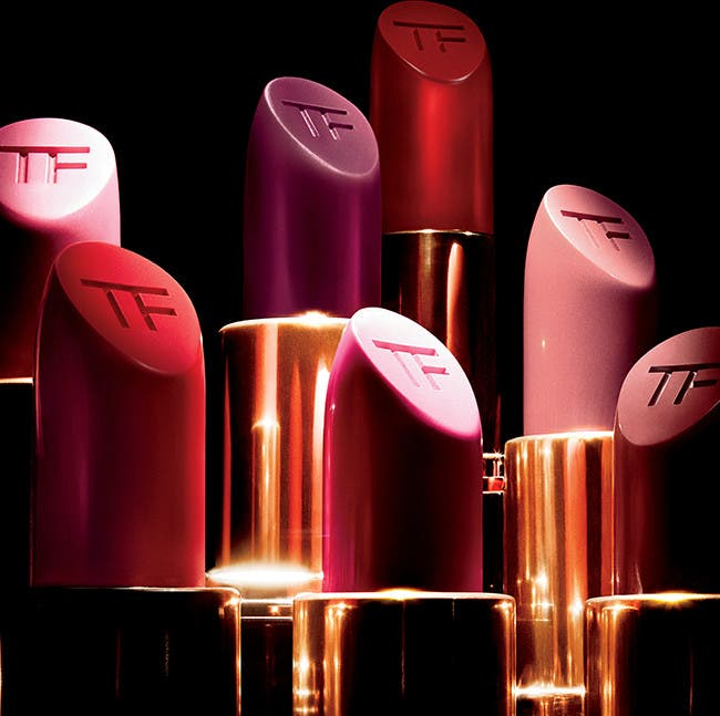 Tom Ford lip color.