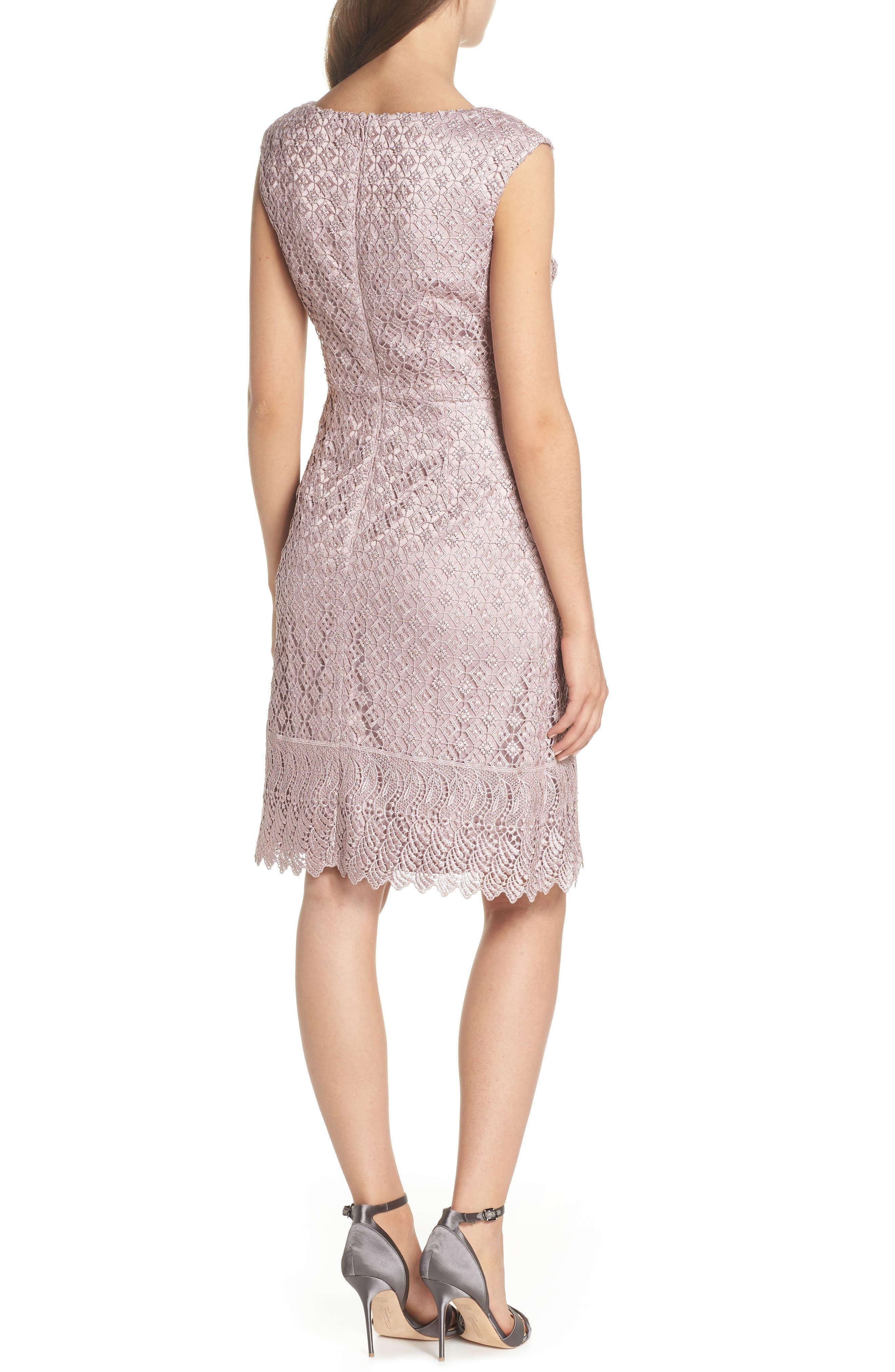 Guipure Lace Dress,                             Alternate thumbnail 2, color,                             680