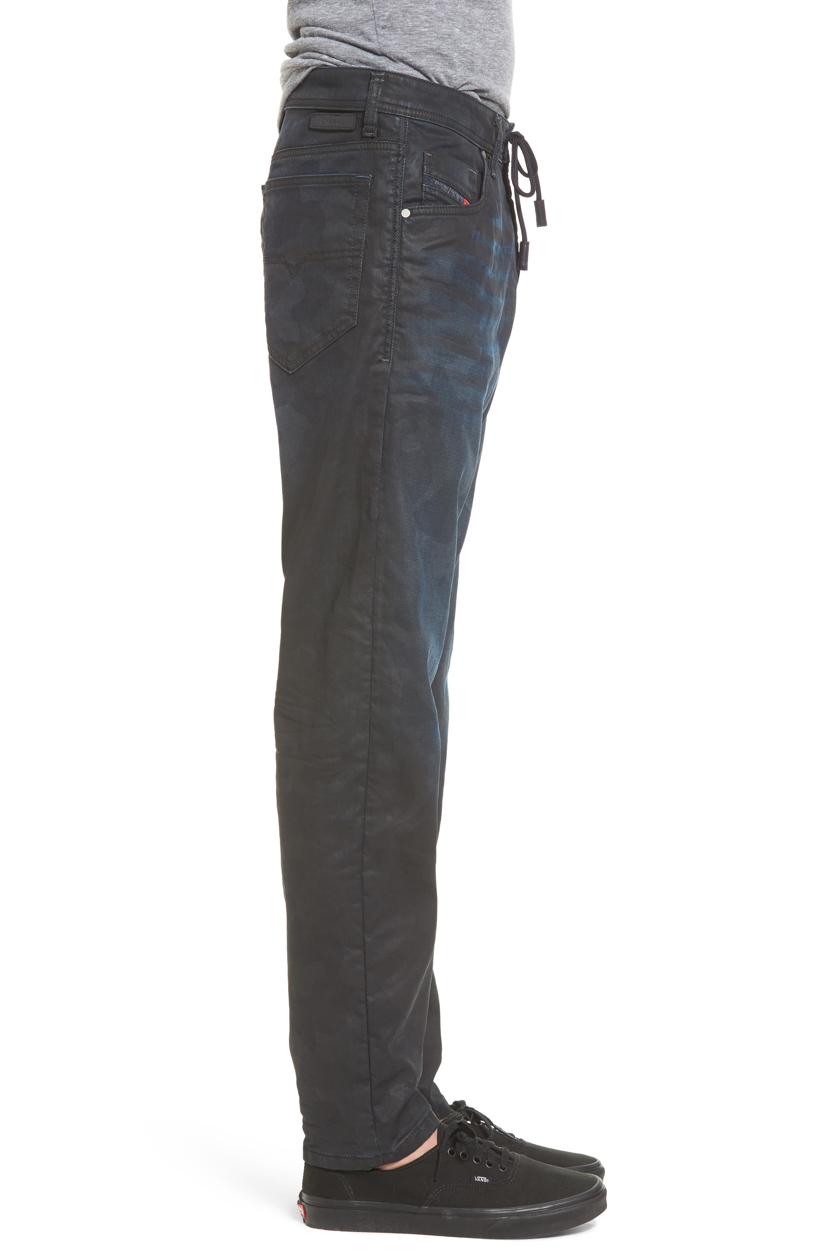 Narrot Slouchy Skinny Fit Jeans,                             Alternate thumbnail 3, color,