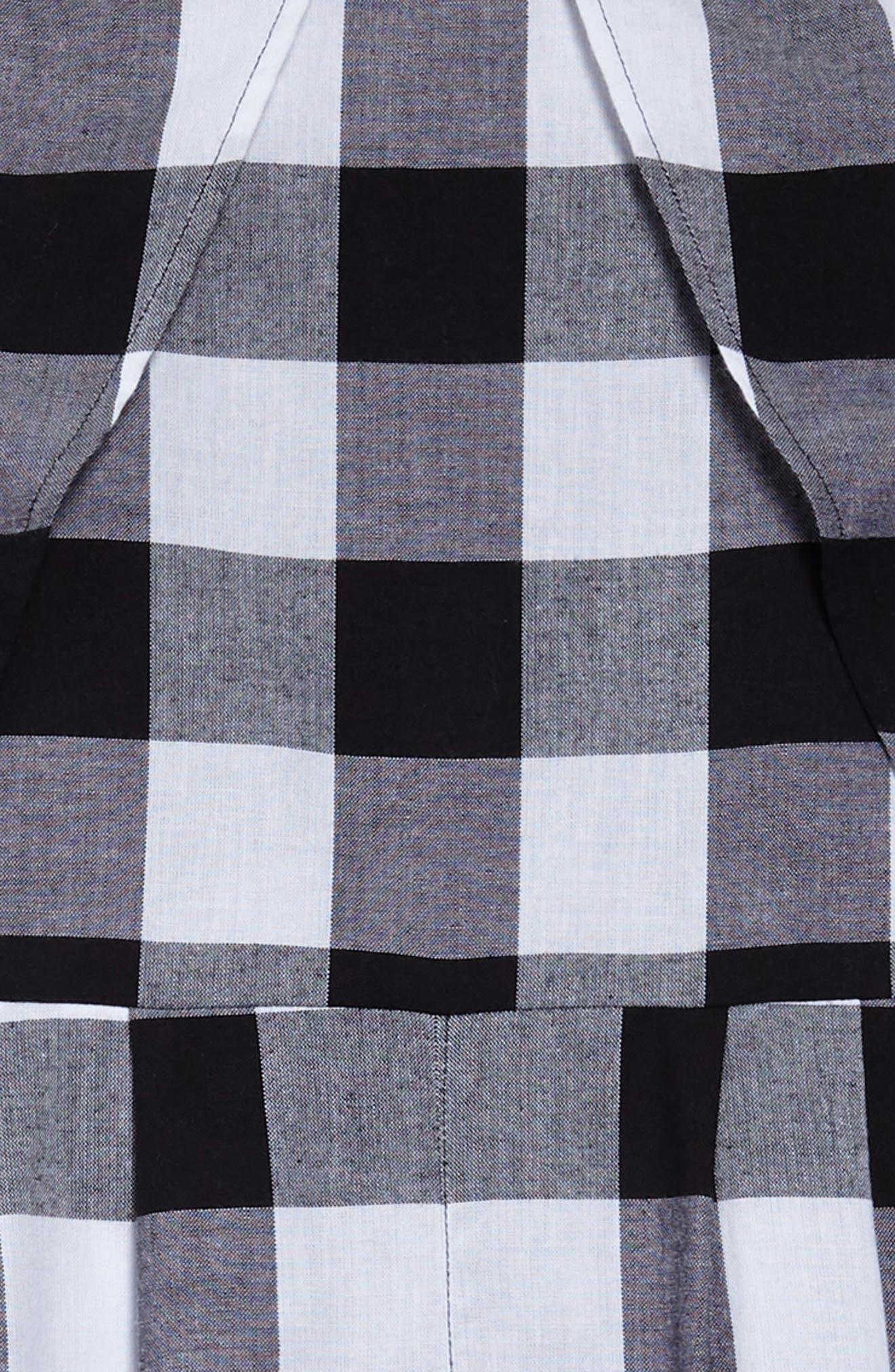 Patricia Check Jumpsuit,                             Alternate thumbnail 2, color,                             001
