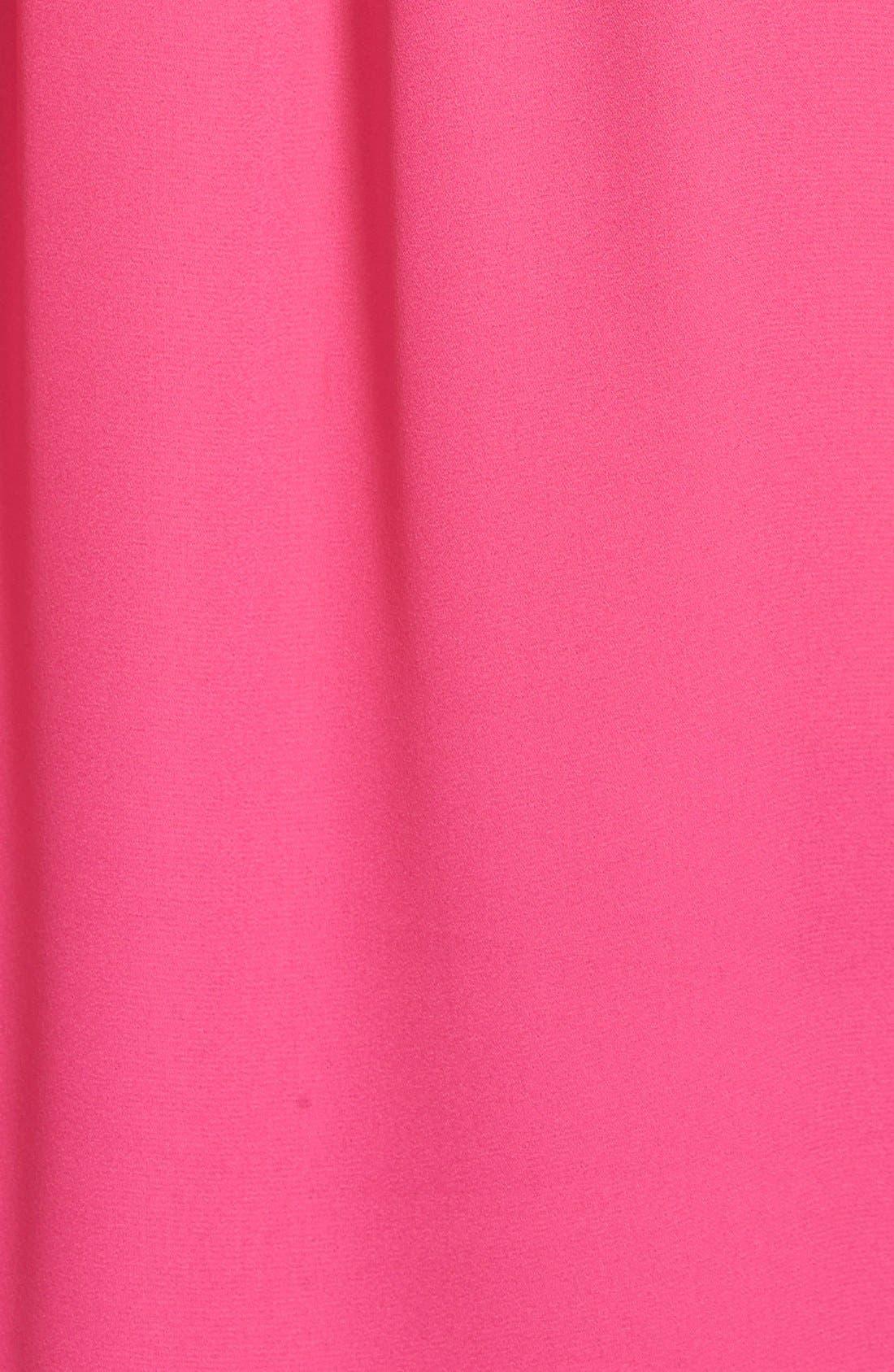 VINCE CAMUTO,                             Tie Neck Drape Front Blouse,                             Alternate thumbnail 3, color,                             650
