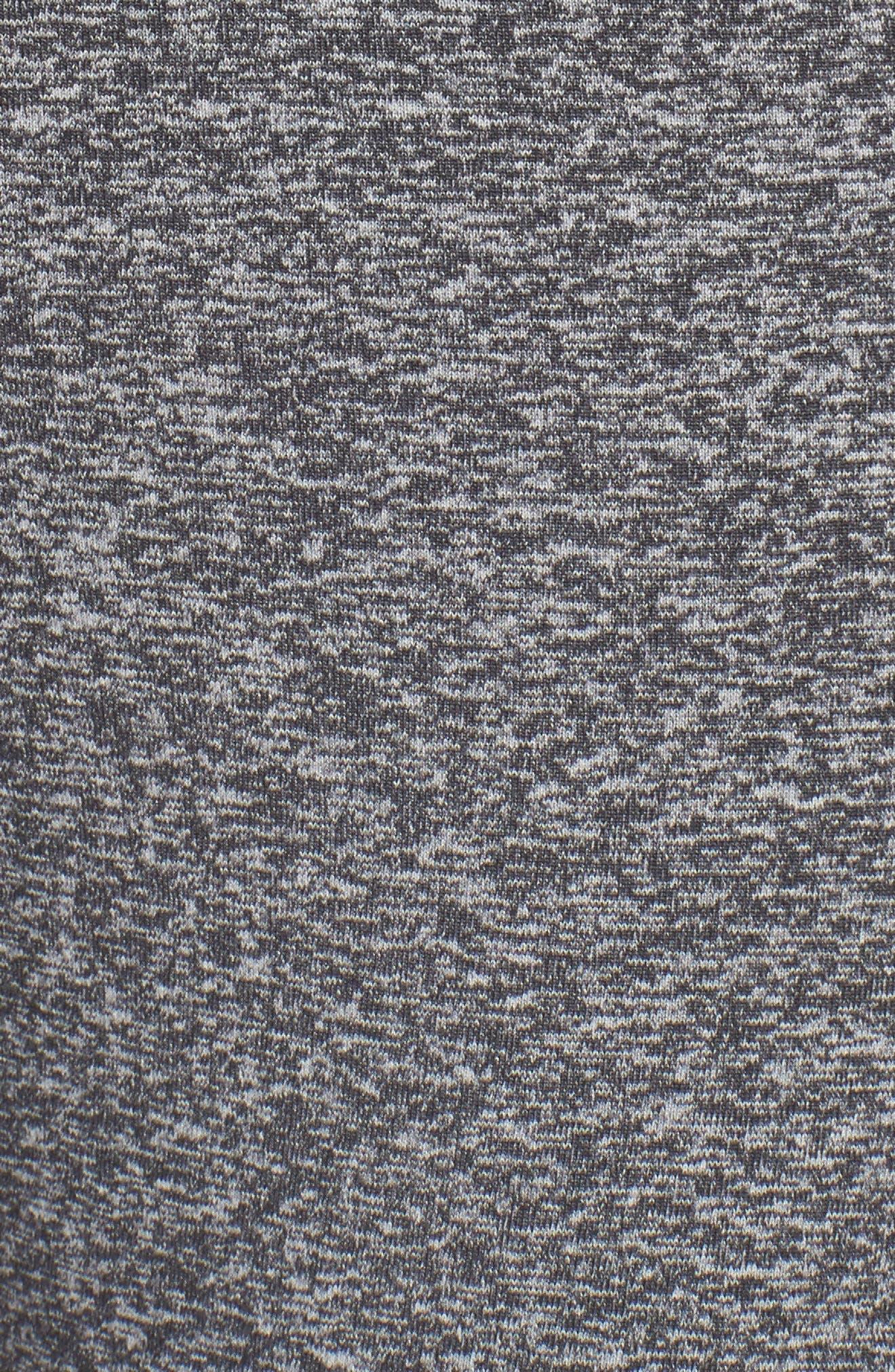 Sporty Splice High Waist Crop Leggings,                             Alternate thumbnail 6, color,                             030