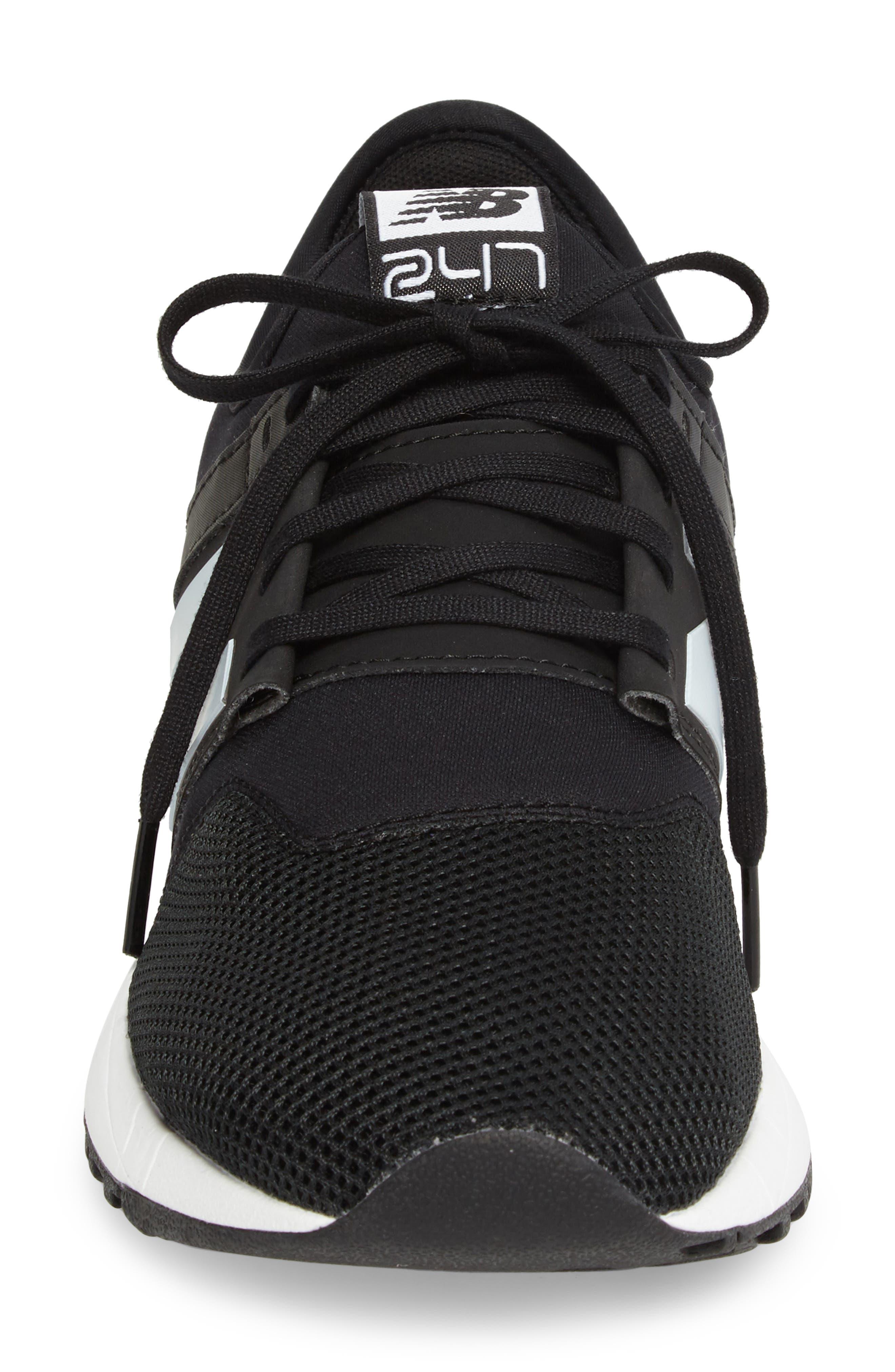 247 Modern Classic Sneaker,                             Alternate thumbnail 4, color,                             001