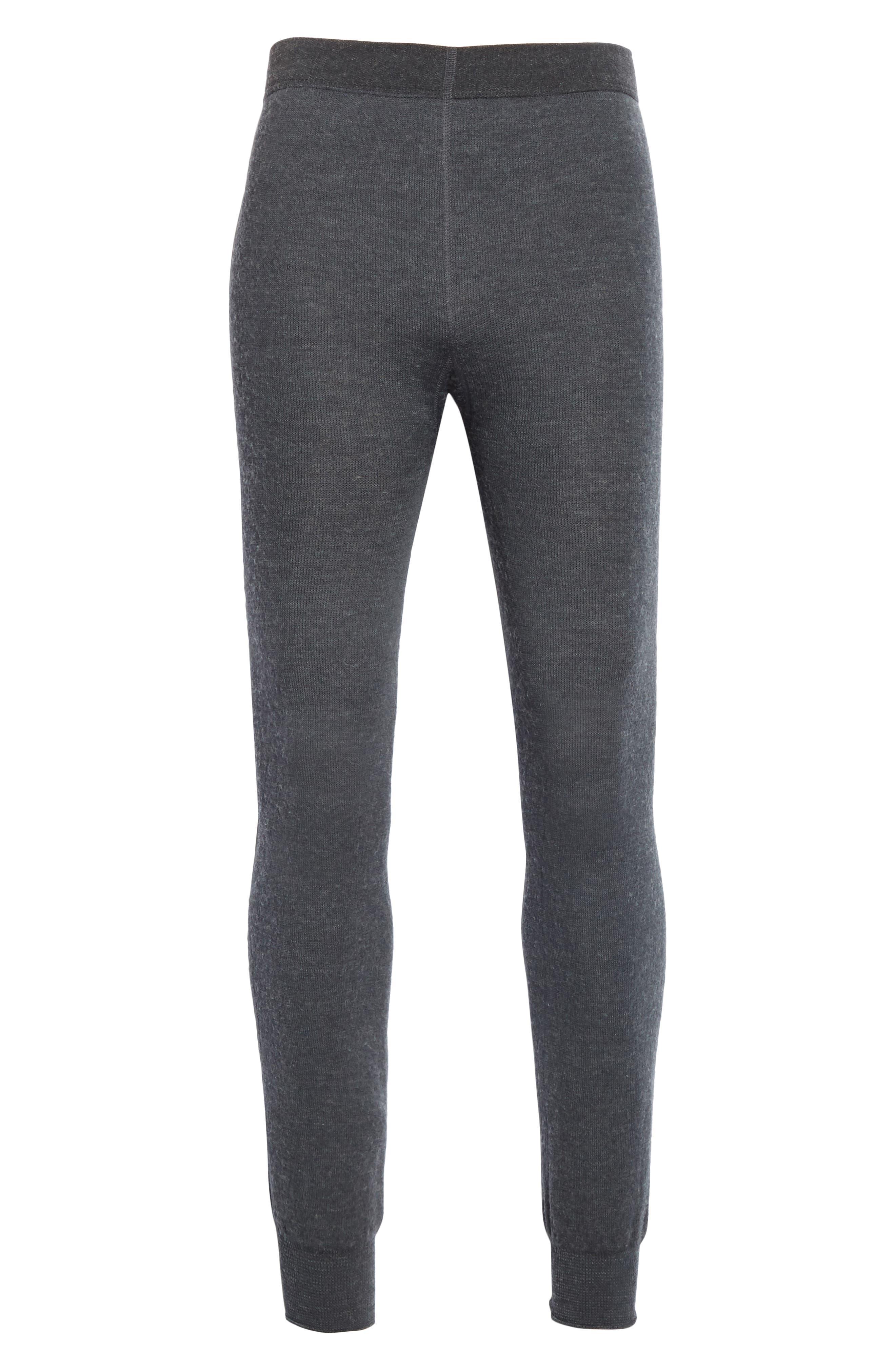Woolpower Long Johns 200 Thermal Leggings, Grey