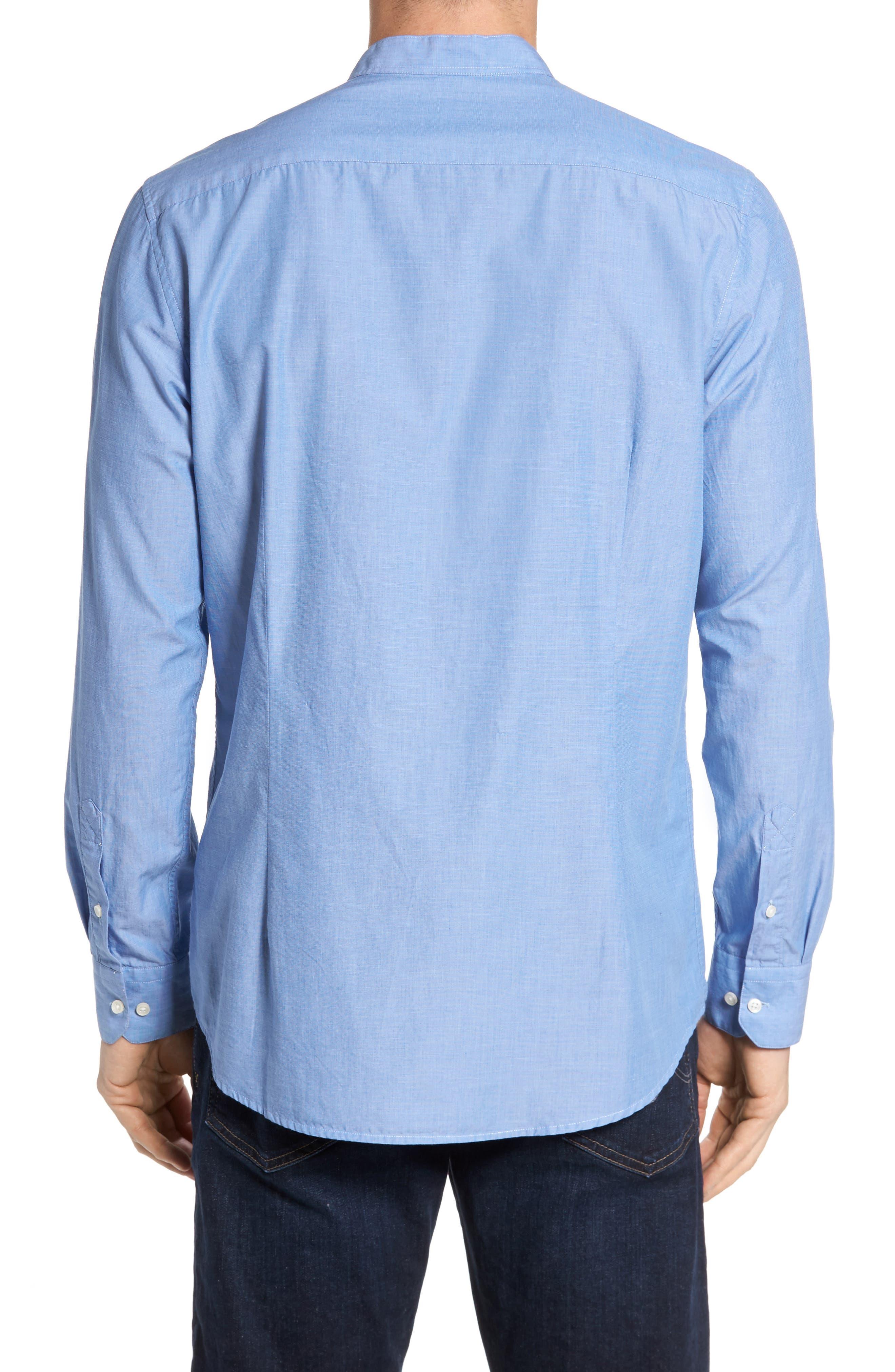 Fairfield Tailored Fit Sport Shirt,                             Alternate thumbnail 2, color,                             450