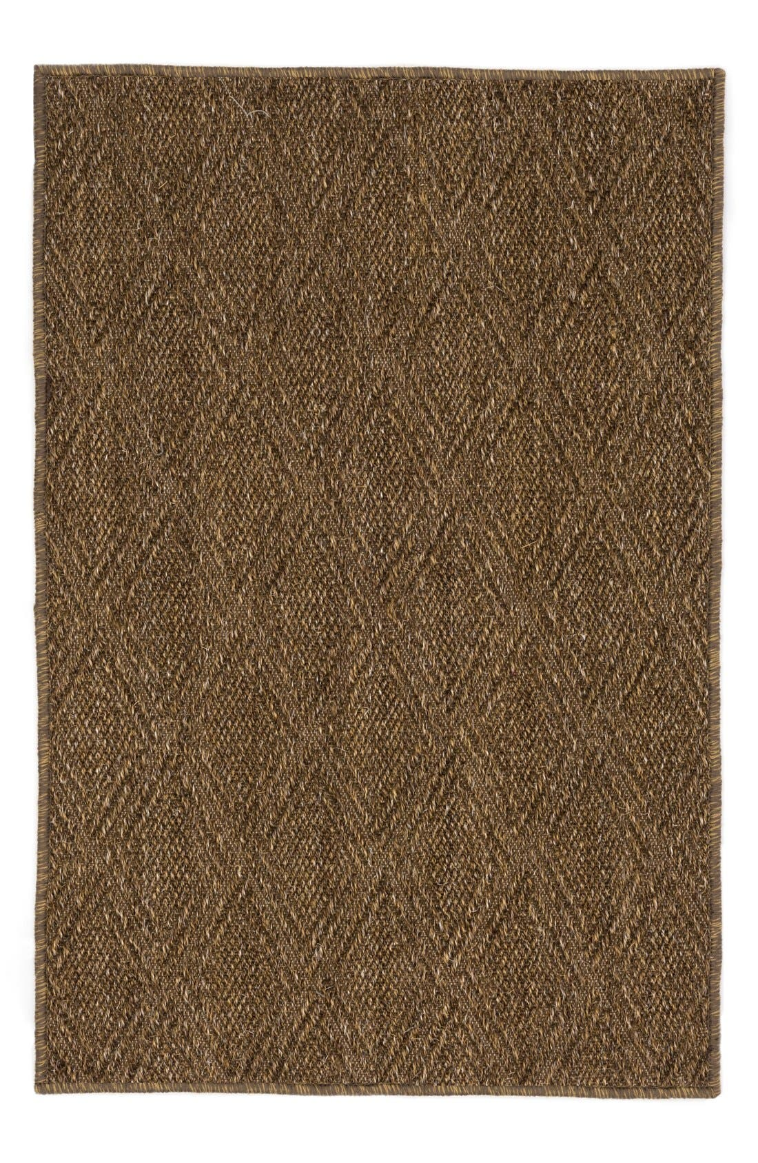 'Diamond Sisal' Rug, Main, color, 200
