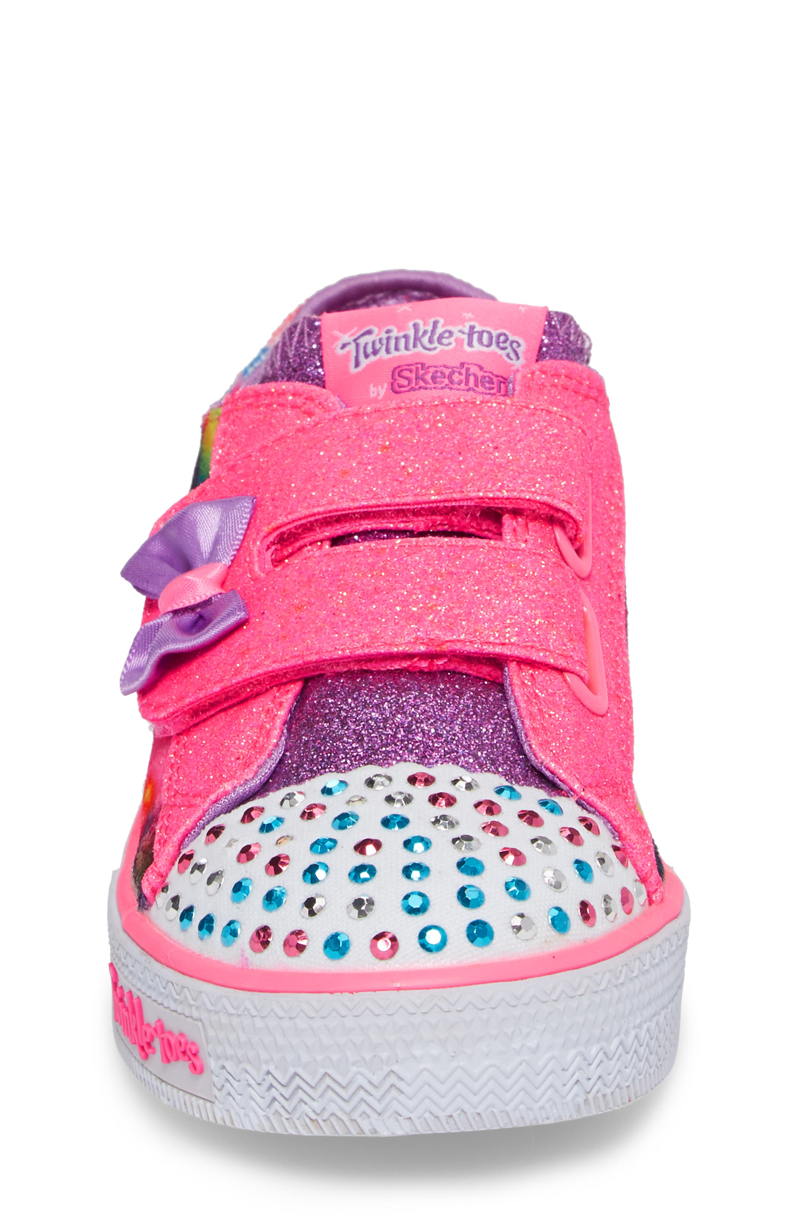 Shuffles - Itsy Bitsy Light-Up Sneaker,                             Alternate thumbnail 18, color,