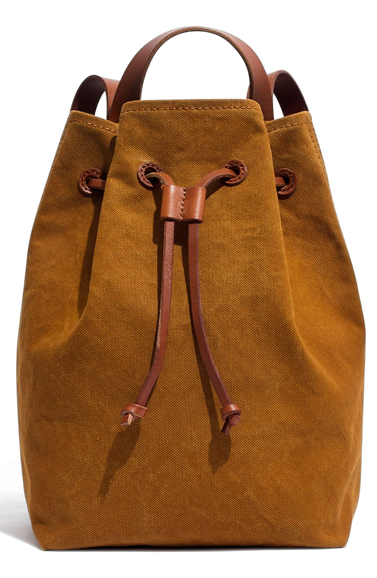 Somerset Canvas Backpack,                             Main thumbnail 1, color,                             ACORN