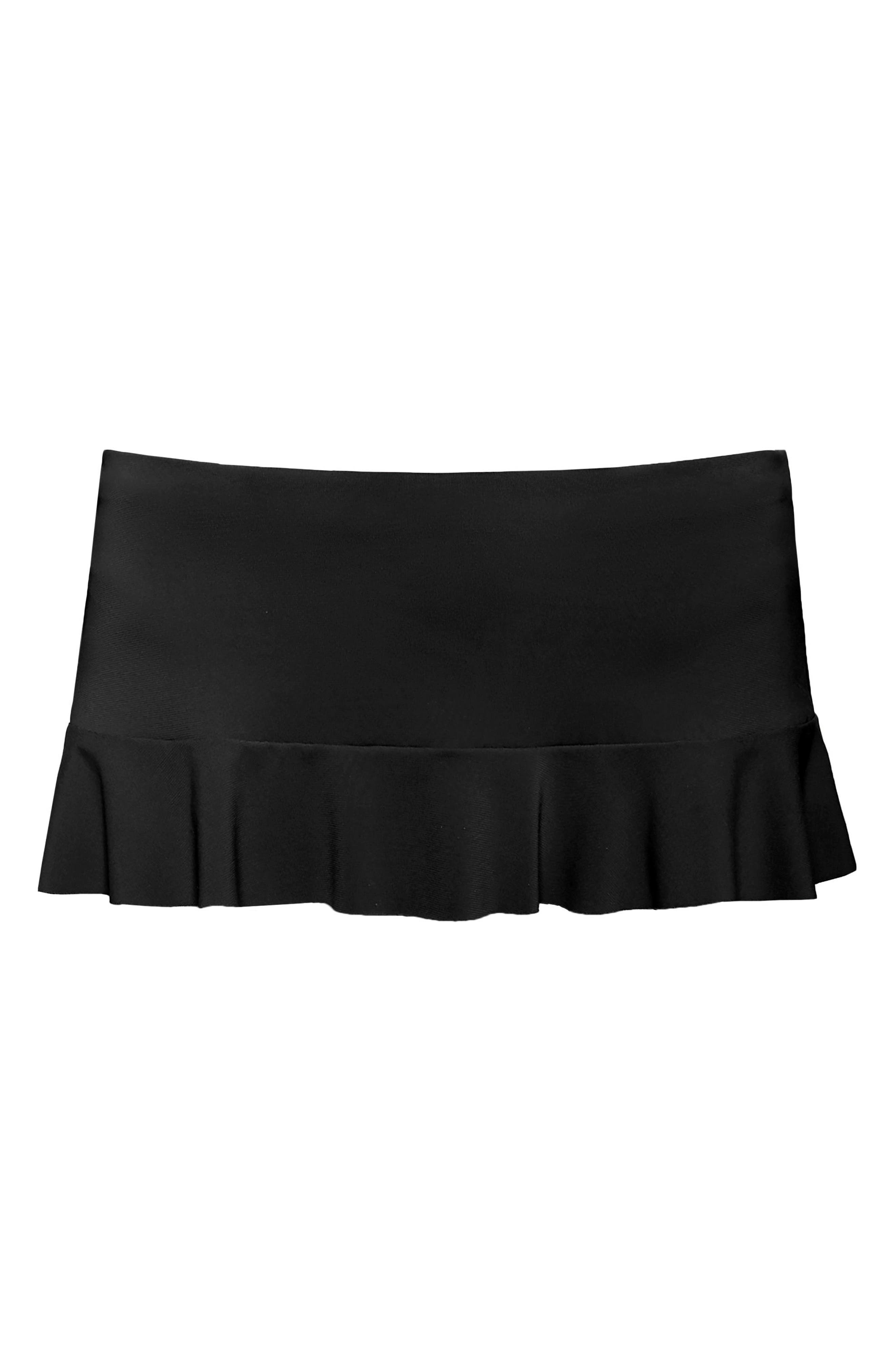 Lina Ruffle Swim Skirt,                             Alternate thumbnail 6, color,