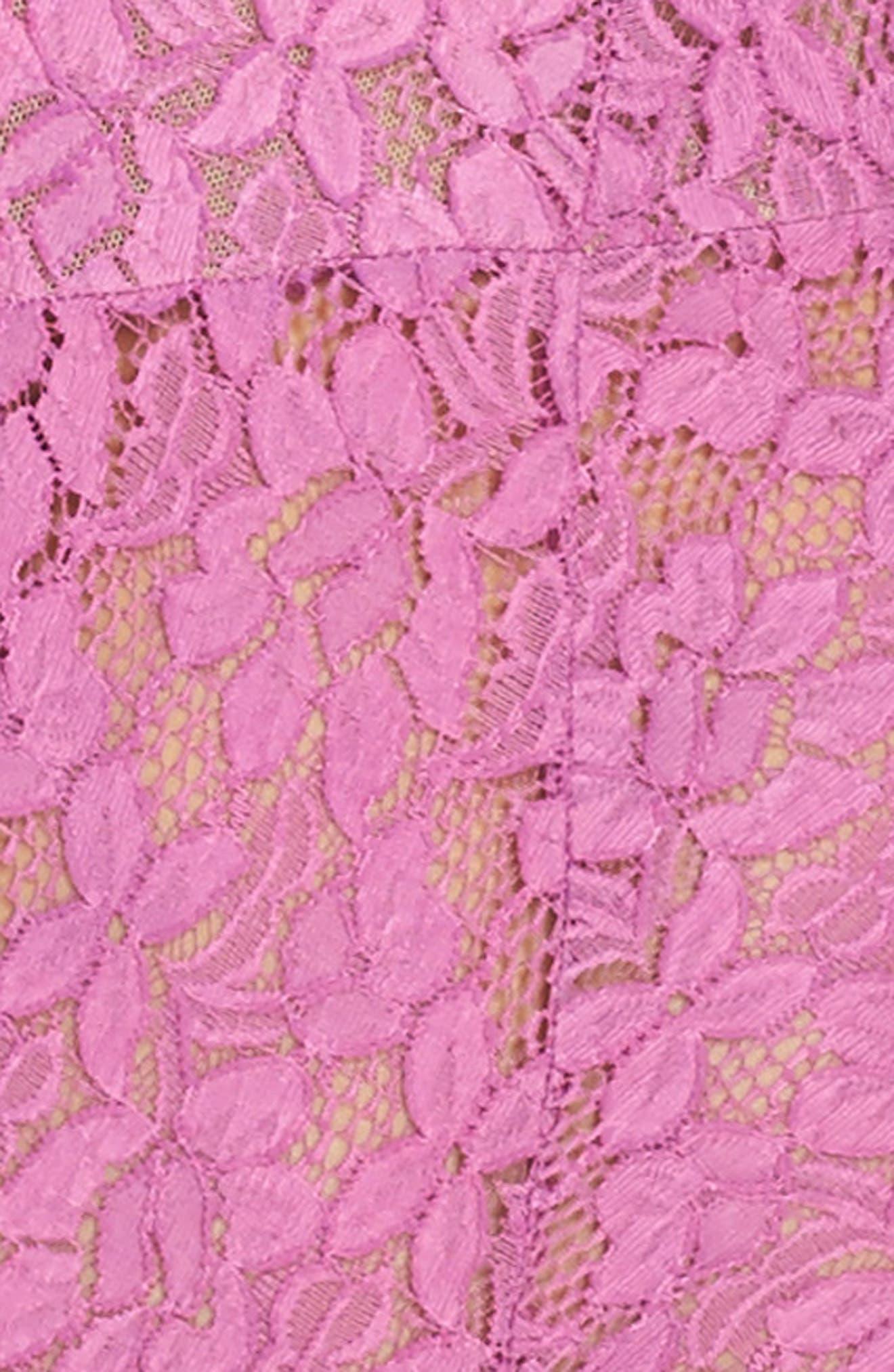 Intimately FP Avery Lace Bodysuit,                             Alternate thumbnail 5, color,                             PURPLE