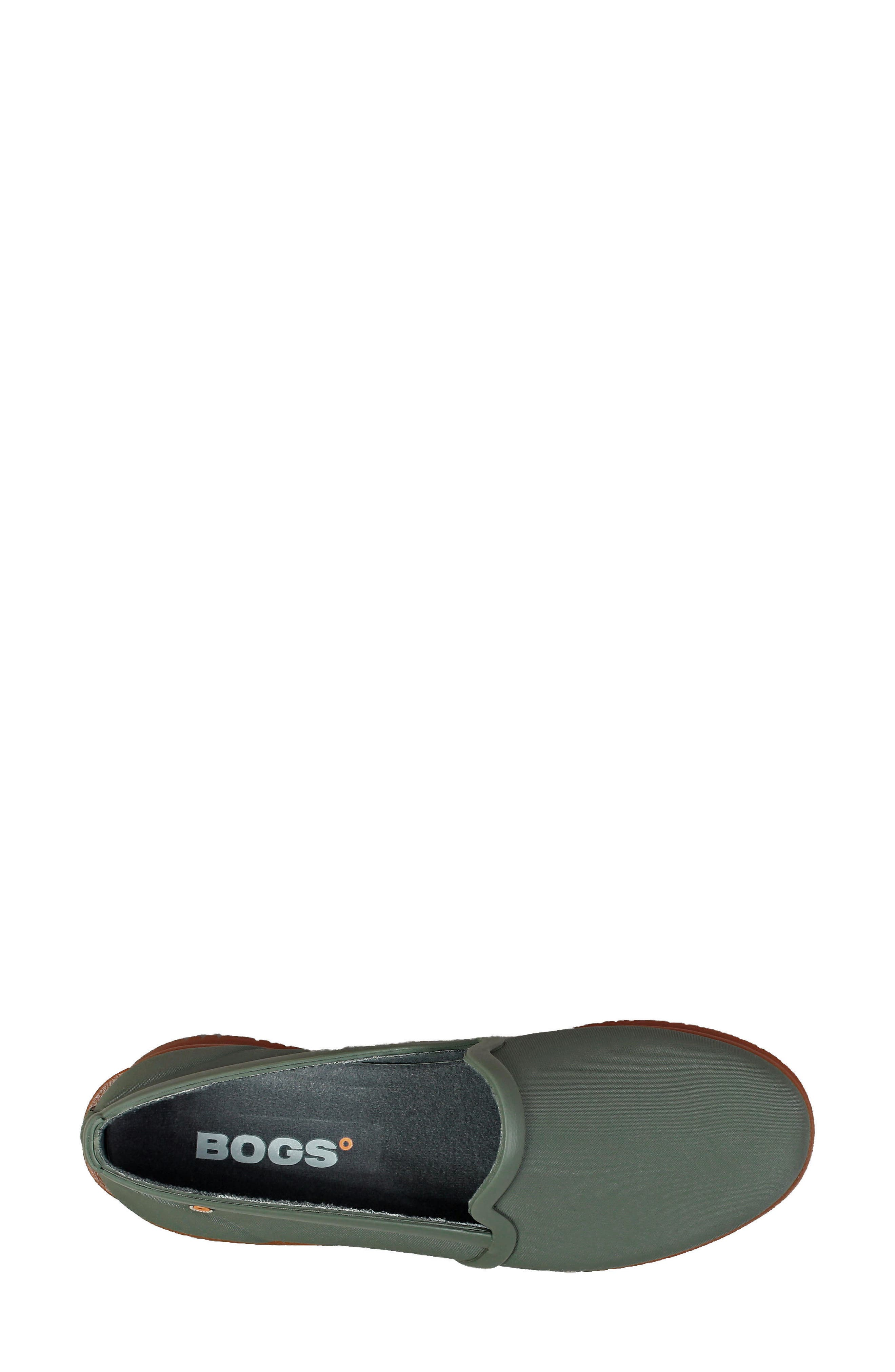 BOGS,                             Sweetpea Waterproof Slip-On Sneaker,                             Alternate thumbnail 5, color,                             SAGE
