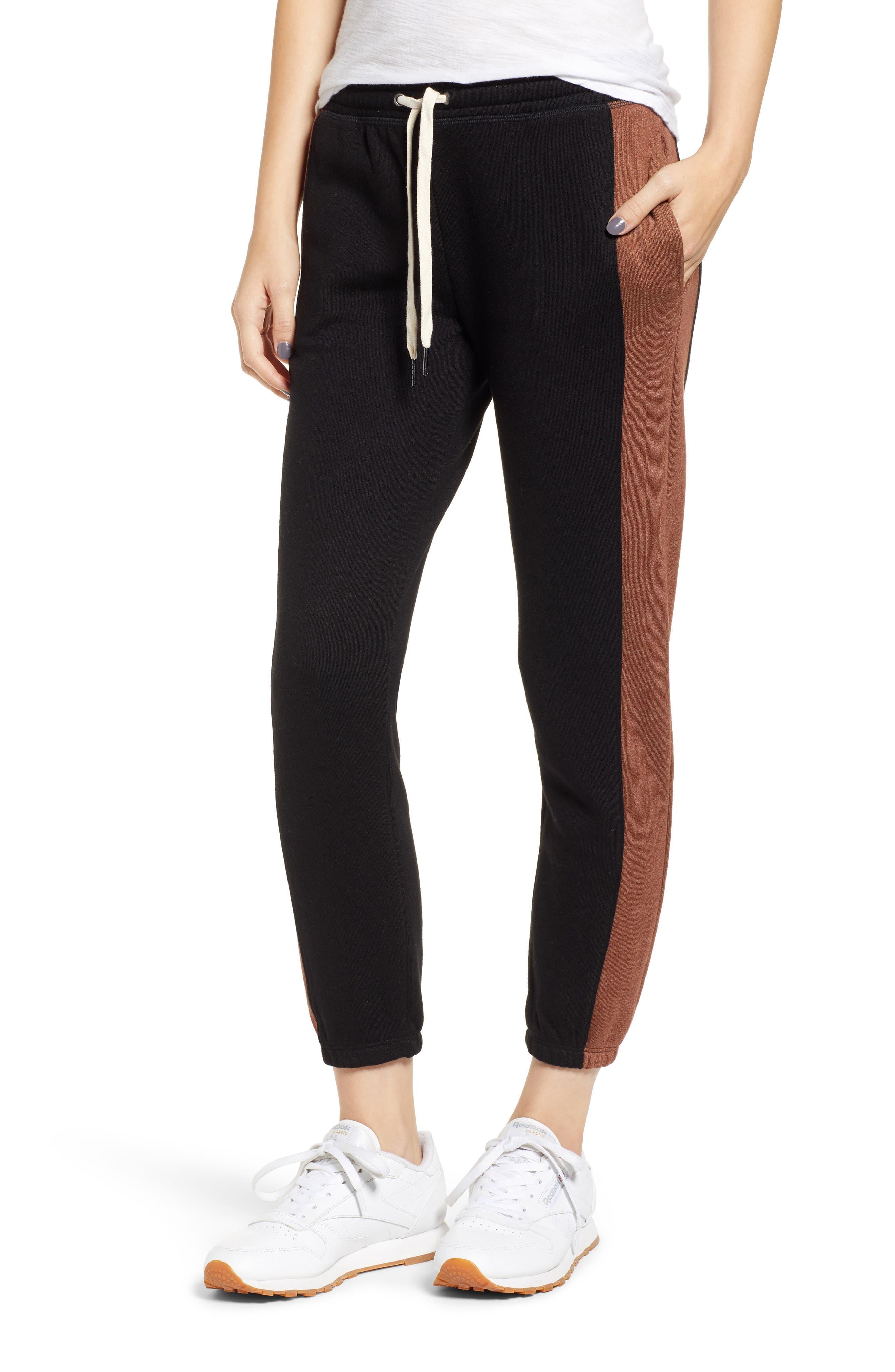 N:PHILANTHROPY Radio Jogger Pants, Main, color, BLACK CAT COPPER