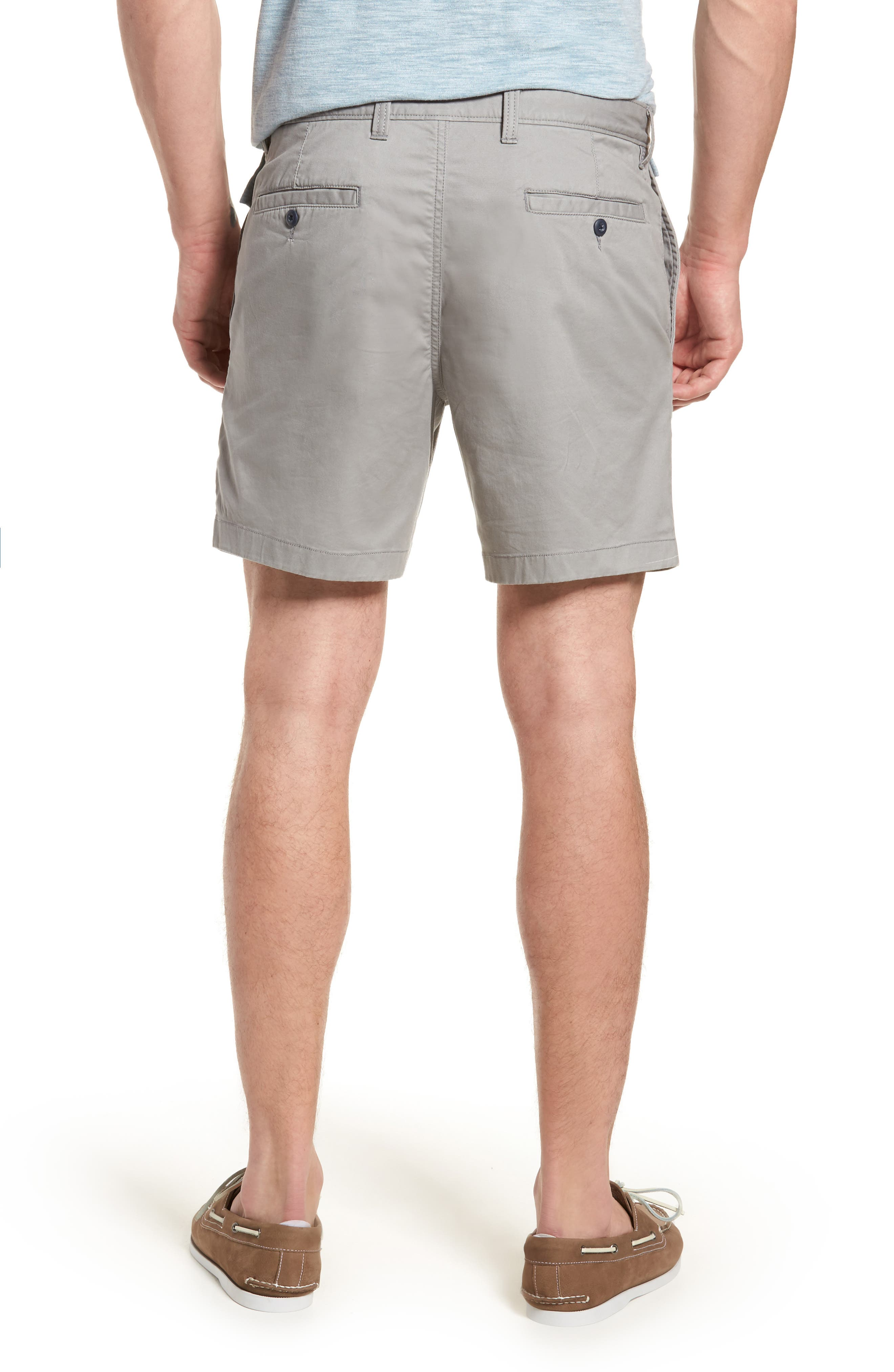 Ballard Slim Fit Stretch Chino 7-Inch Shorts,                             Alternate thumbnail 2, color,                             030