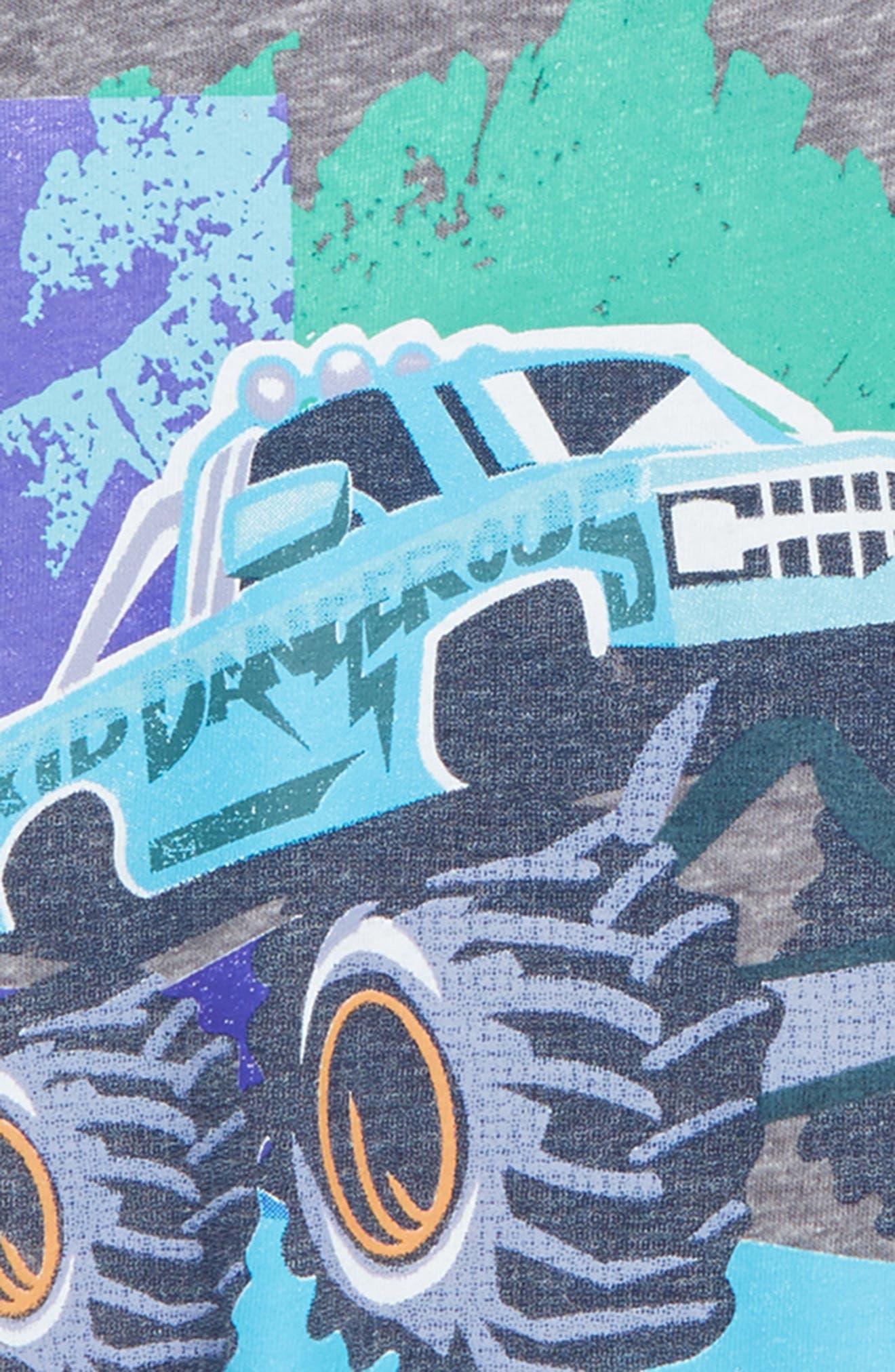 Monster Truck Jam T-Shirt,                             Alternate thumbnail 2, color,                             030