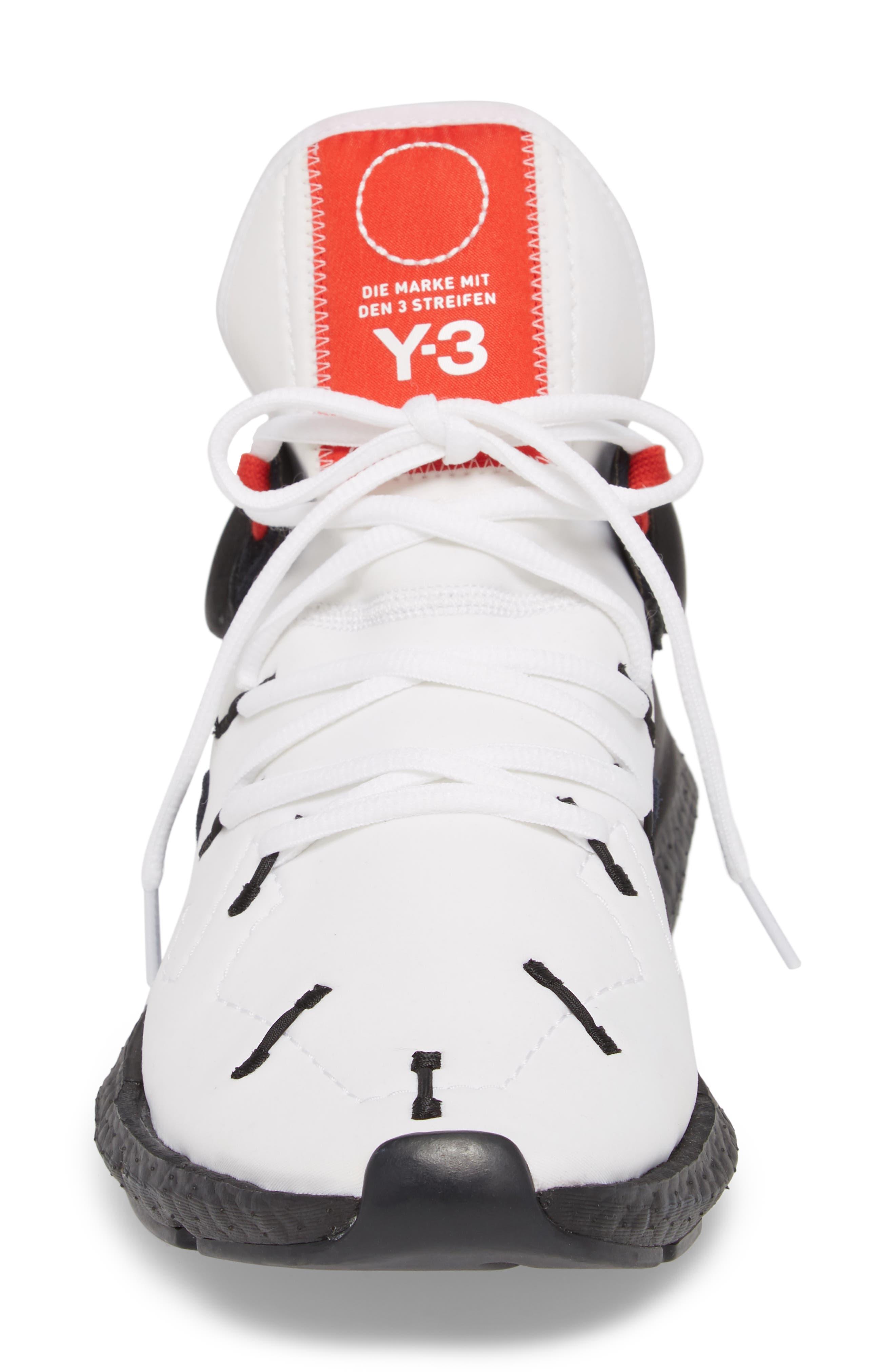 Y-3,                             x adidas Kusari II Sneaker,                             Alternate thumbnail 4, color,                             100