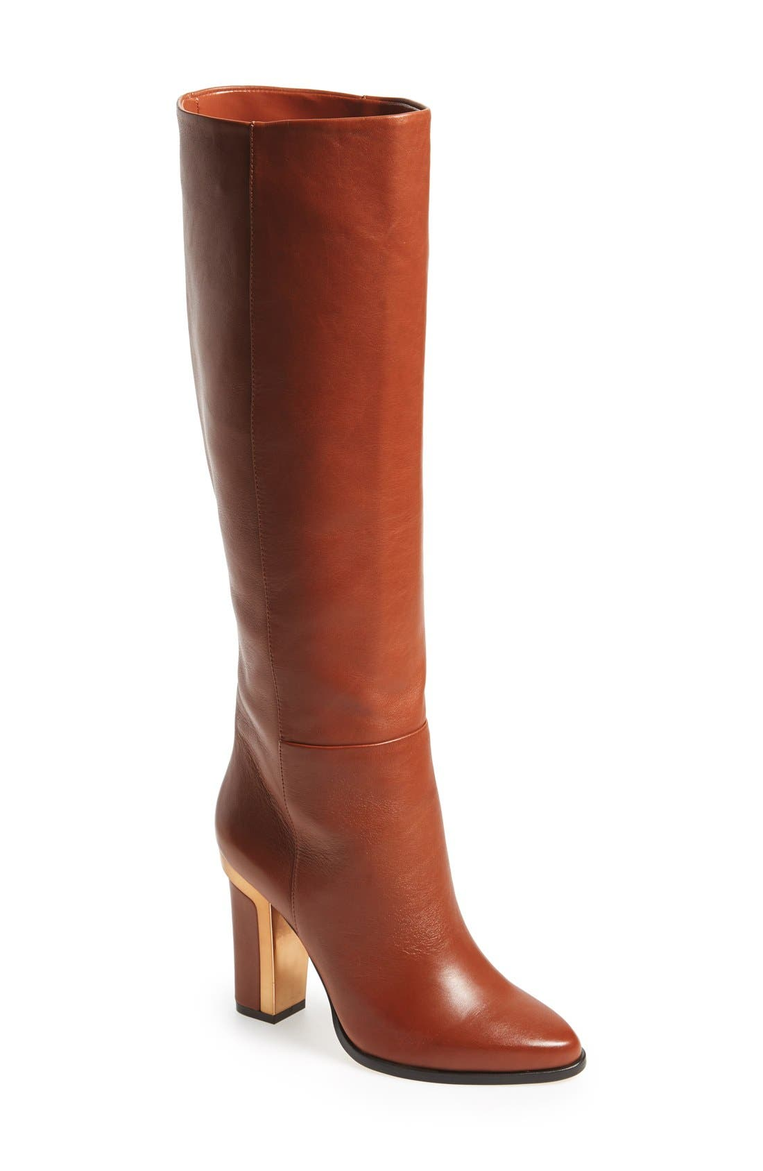'Oak' Tall Boot,                             Main thumbnail 1, color,                             240