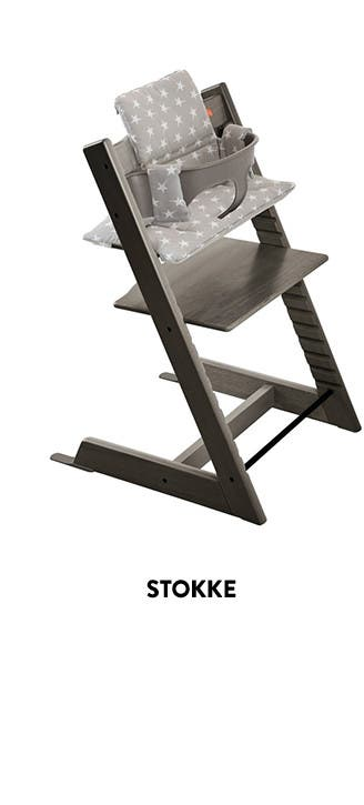 Stokke baby highchairs and more.