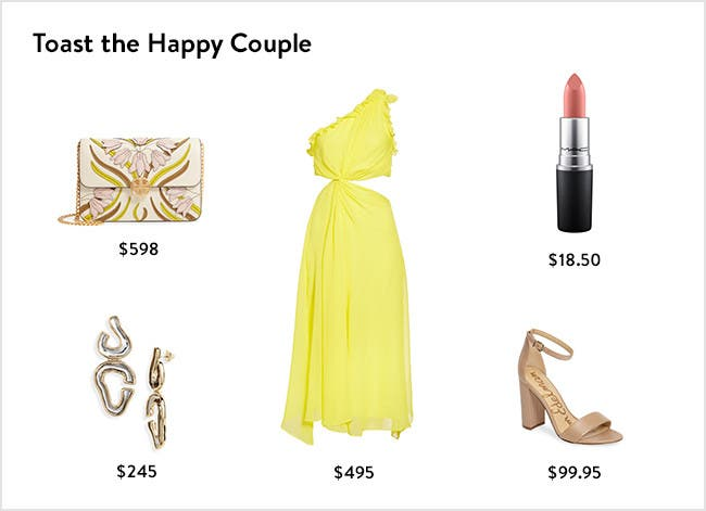 Toast the happy couple: women's wedding outfits.