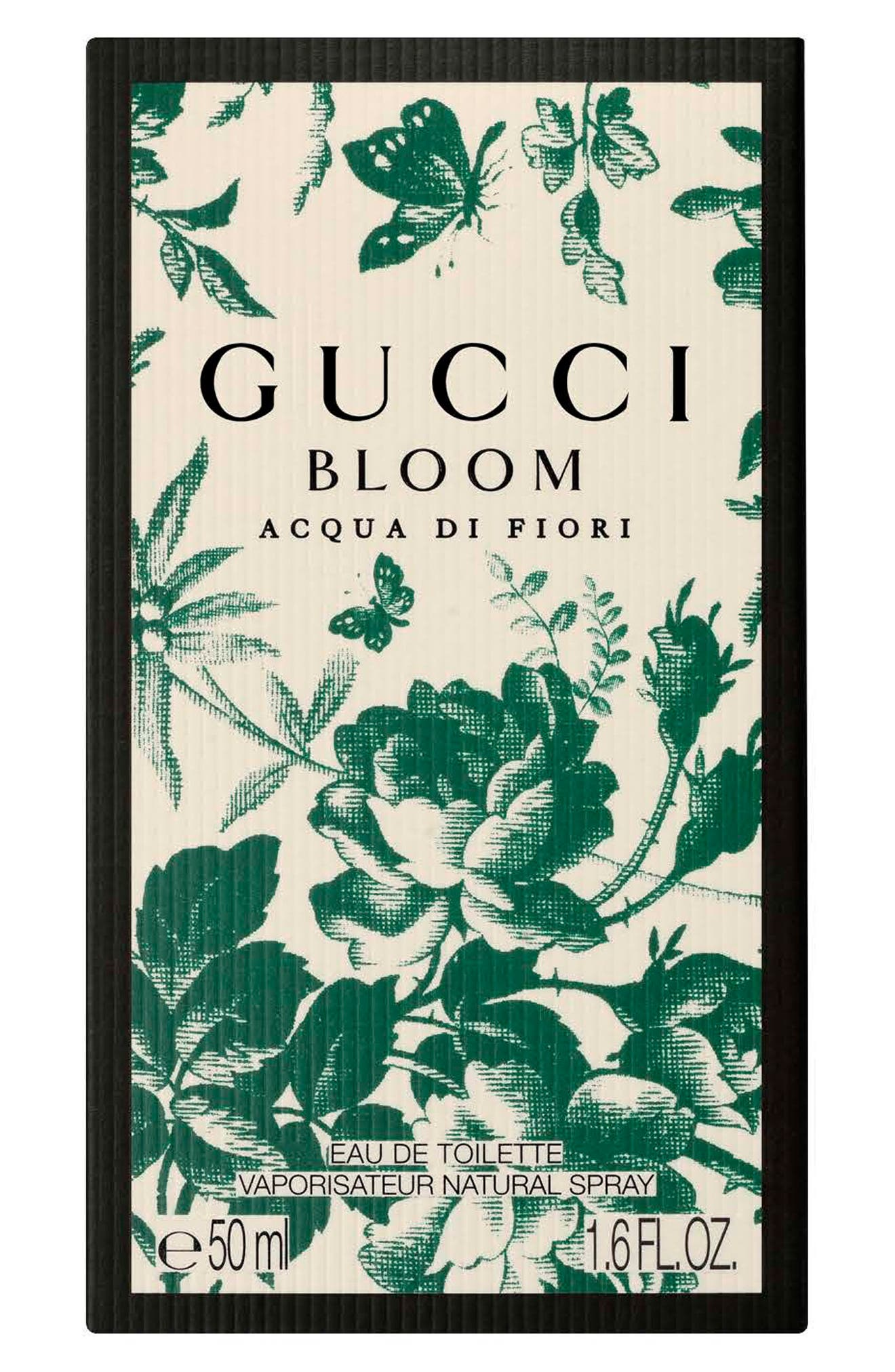 Bloom Acqua di Fiori Eau de Toilette,                             Alternate thumbnail 5, color,                             NO COLOR