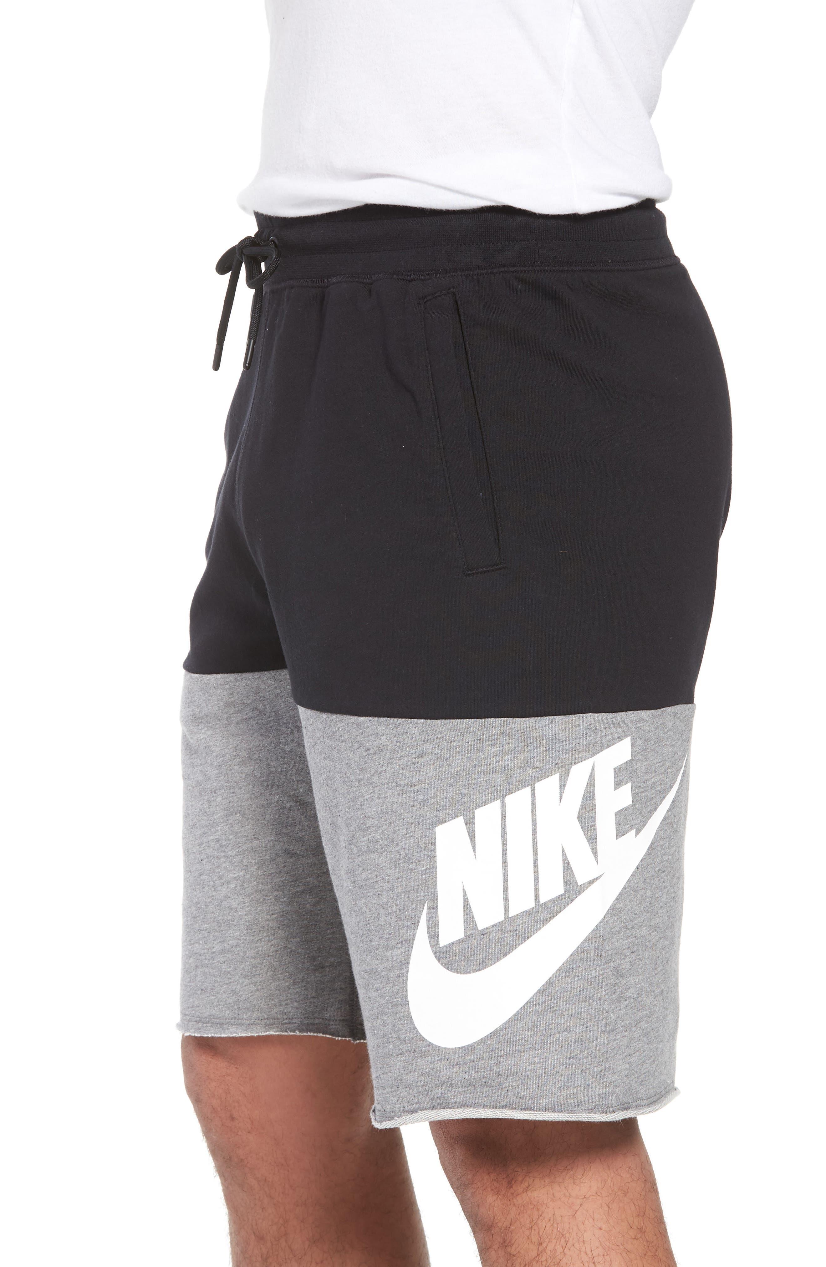 NSW Franchise GX3 Shorts,                             Alternate thumbnail 3, color,                             BLACK/ CARBON HEATHER/ WHITE