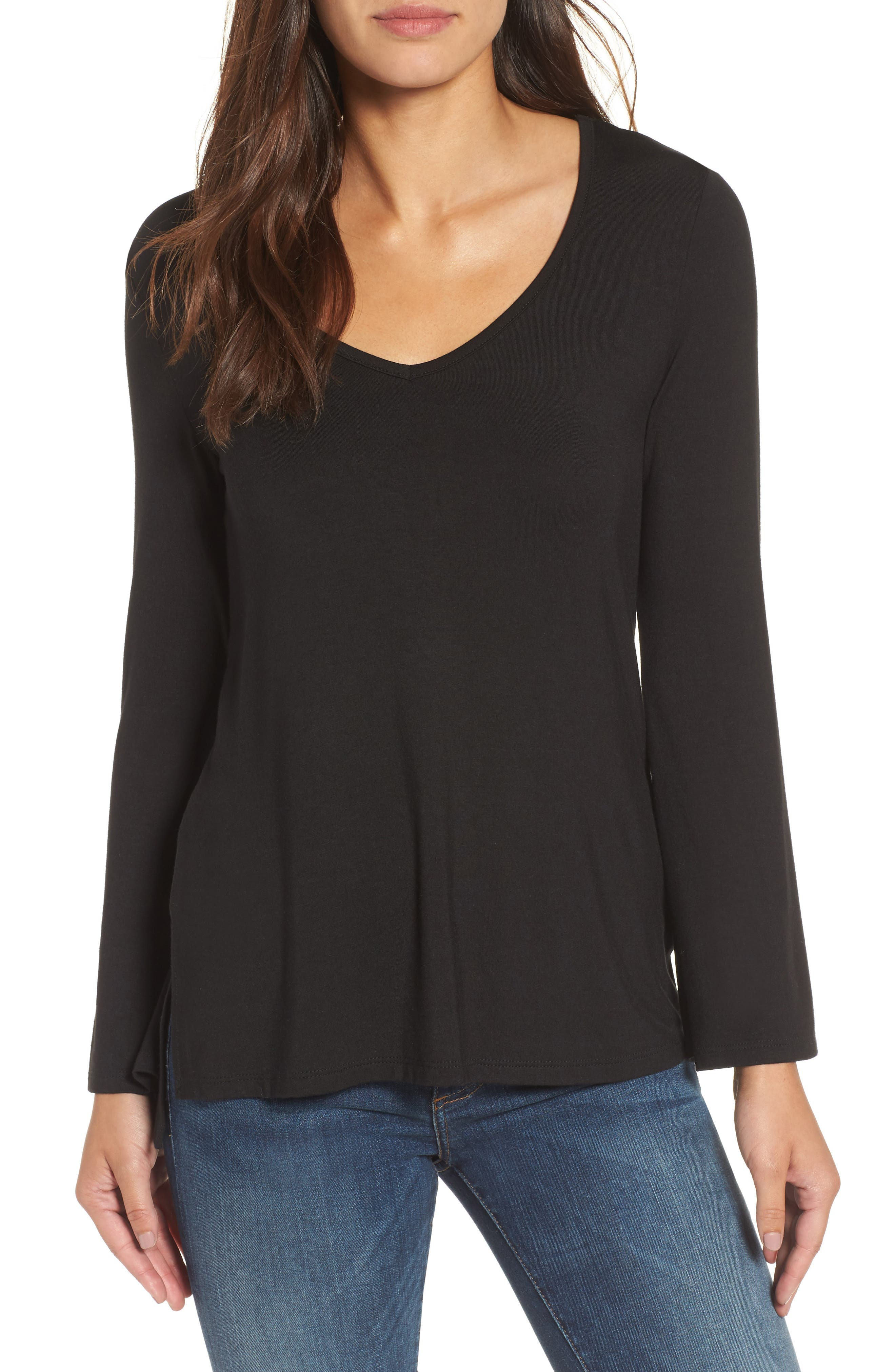 Milo Bell Sleeve Top,                         Main,                         color, 002