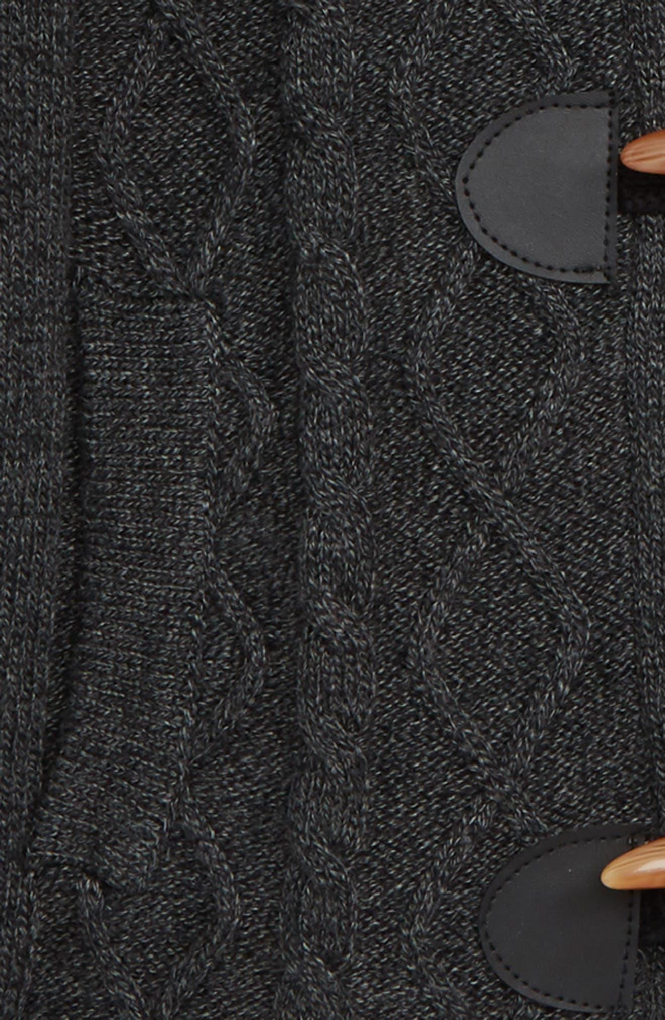Shawl Collar Toggle Cardigan,                             Alternate thumbnail 2, color,                             020