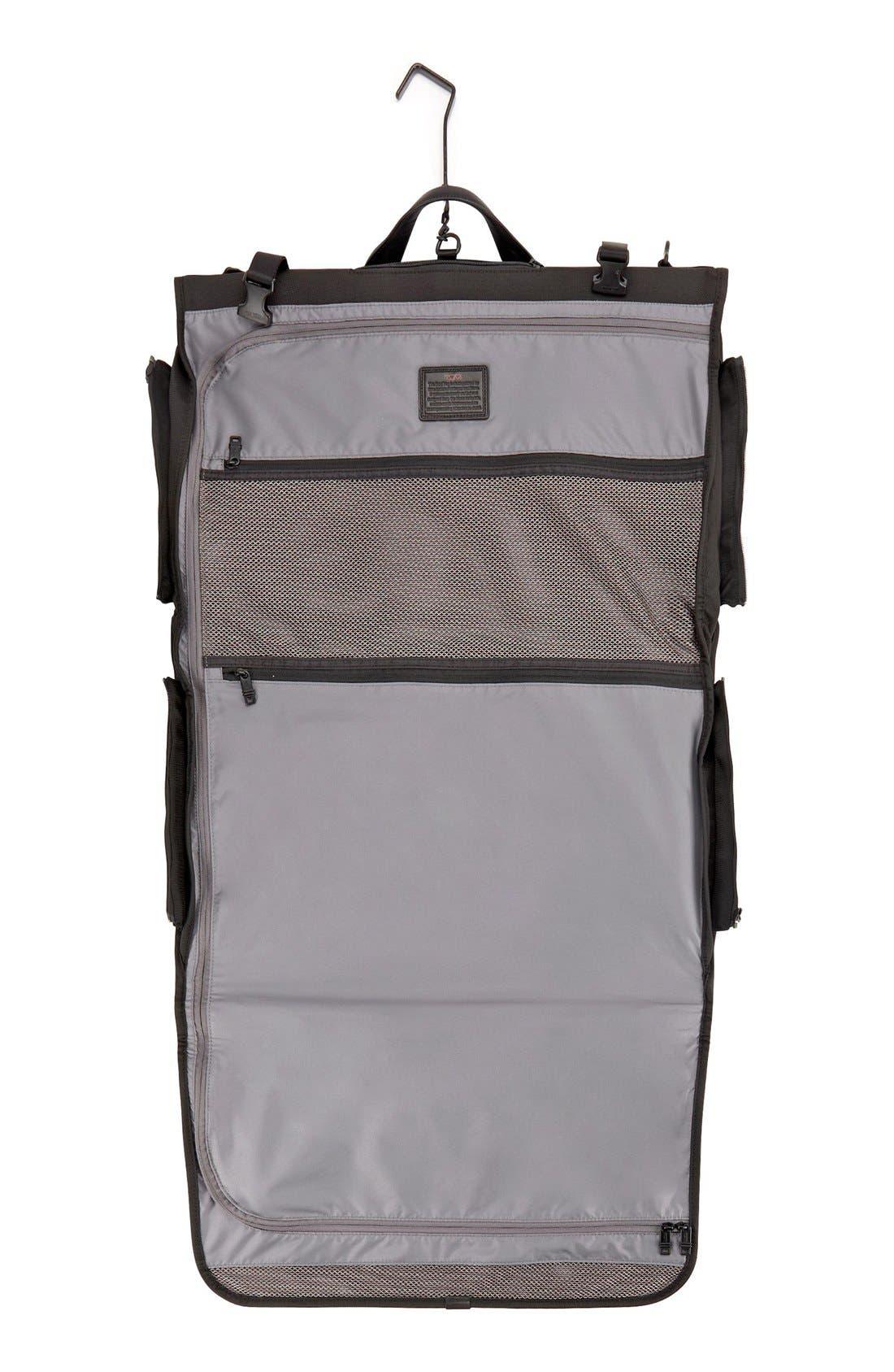 Alpha 2 22-Inch Trifold Carry-On Garment Bag,                             Alternate thumbnail 6, color,                             BLACK