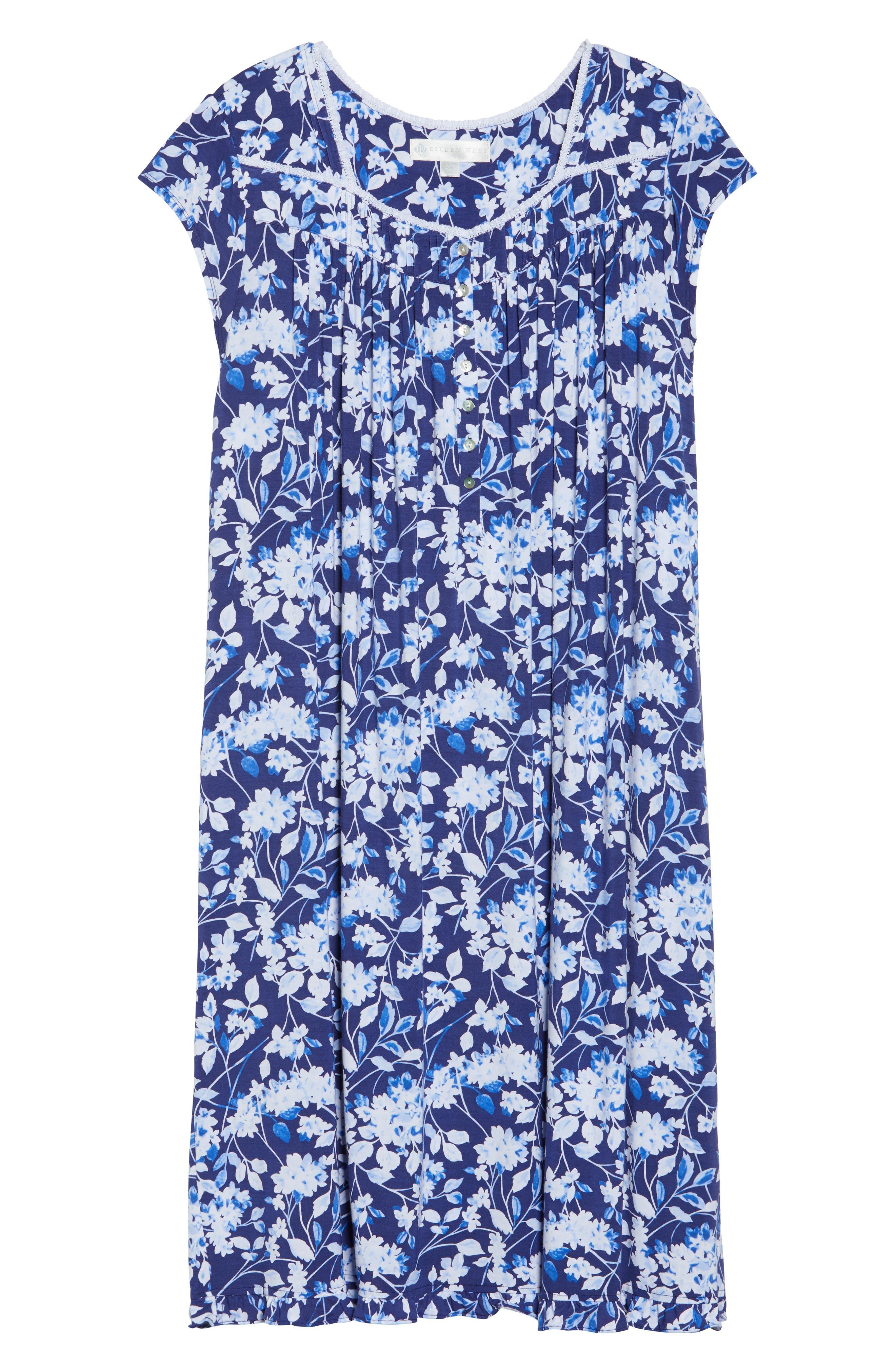 Modal Jersey Waltz Nightgown,                             Alternate thumbnail 6, color,                             400