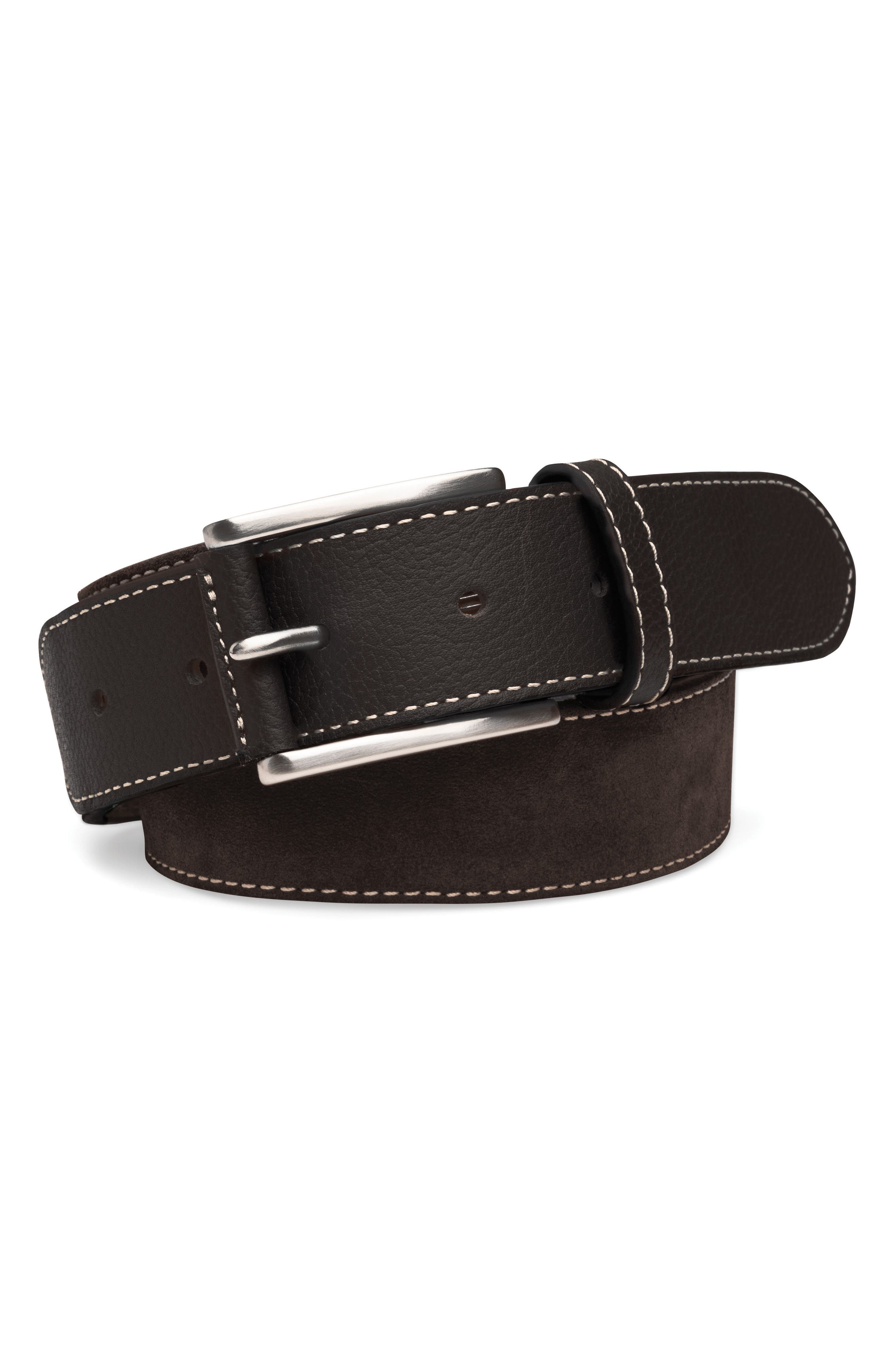 Fall Suede Belt,                             Main thumbnail 1, color,                             202