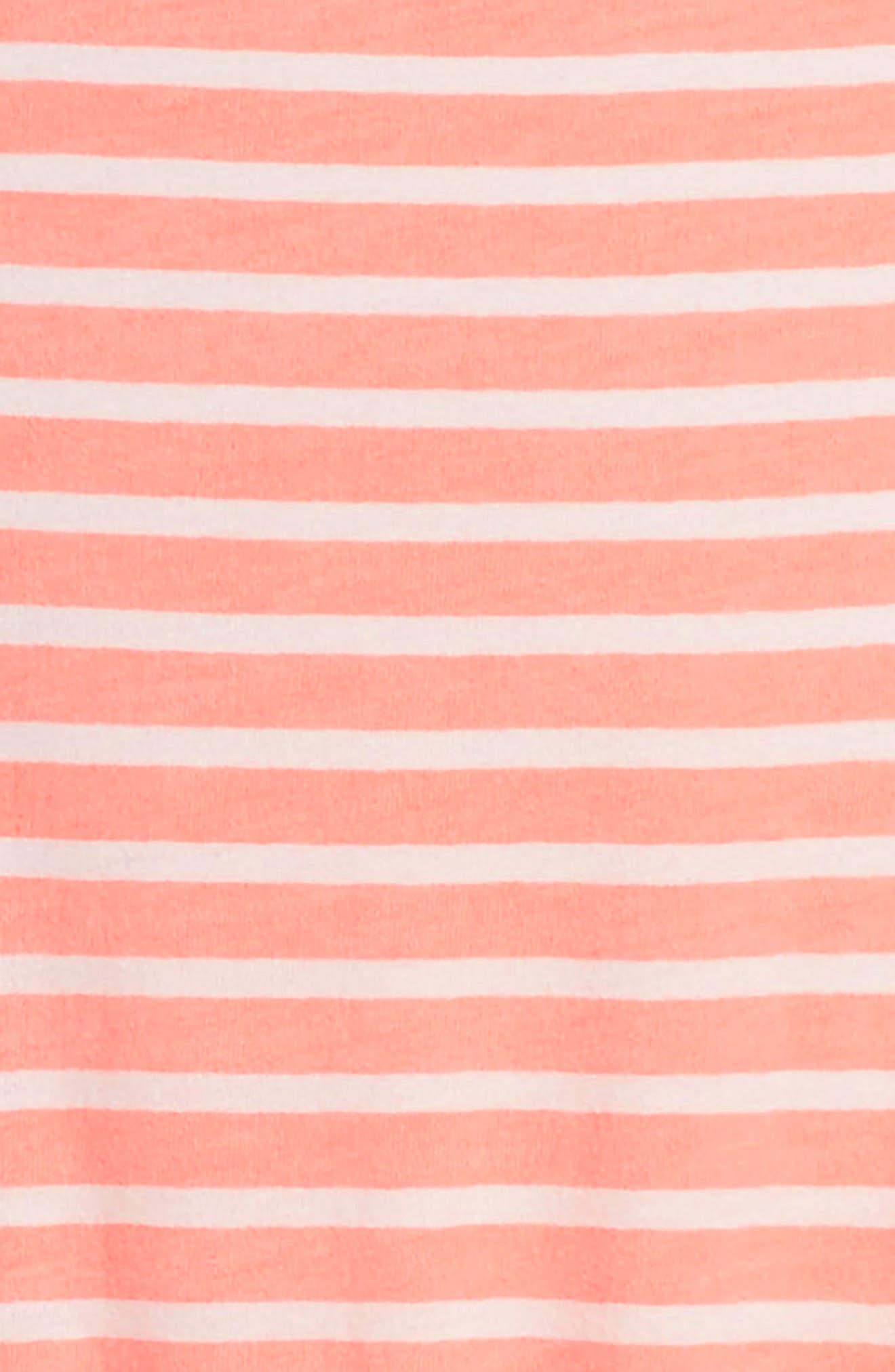 Jaden Stripe Dress,                             Alternate thumbnail 3, color,                             951
