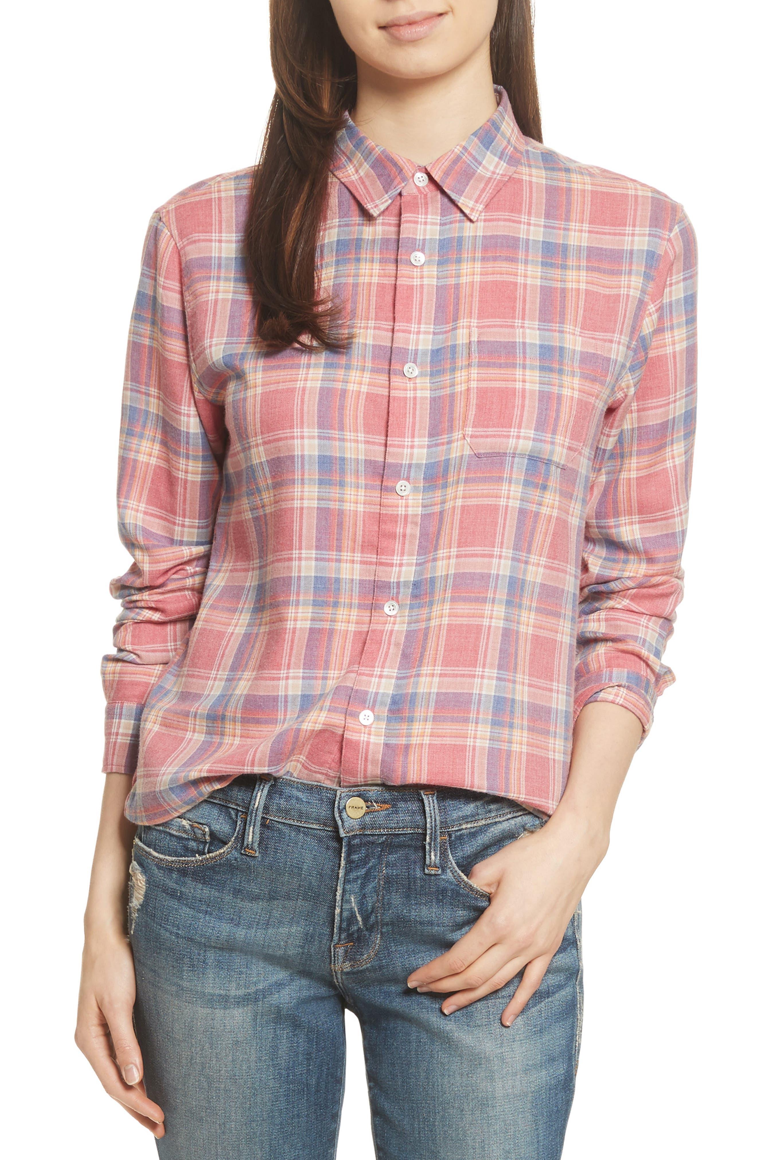 True Plaid Shirt,                             Main thumbnail 1, color,                             601