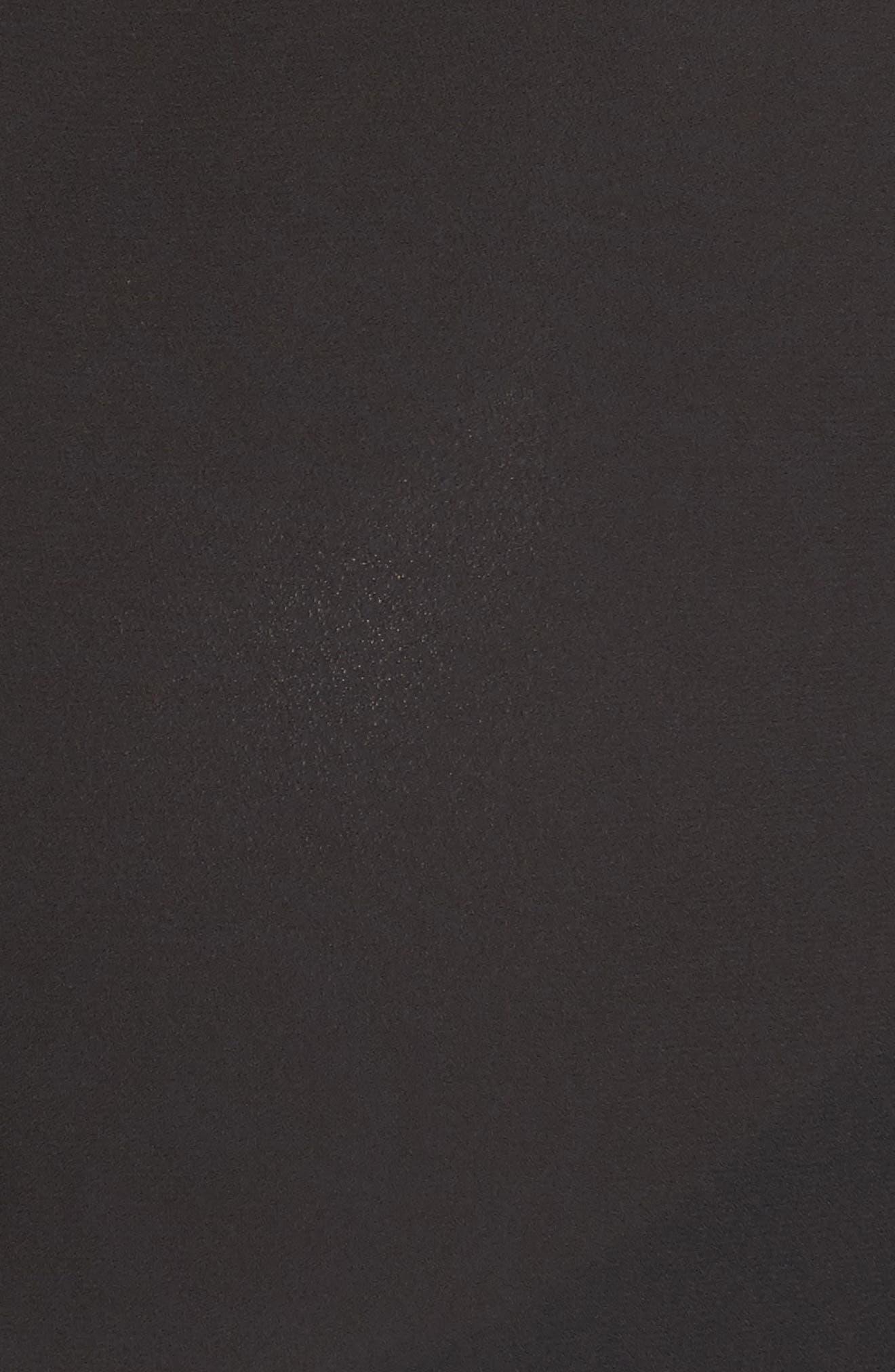 Jenni Maternity/Nursing Shirt,                             Alternate thumbnail 5, color,                             BLACK