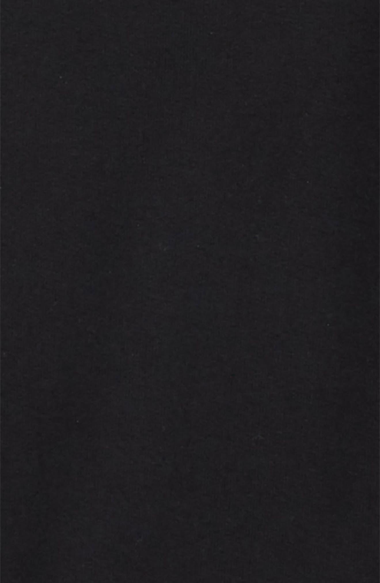 Tie Sleeve Sweatshirt,                             Alternate thumbnail 2, color,                             BLACK